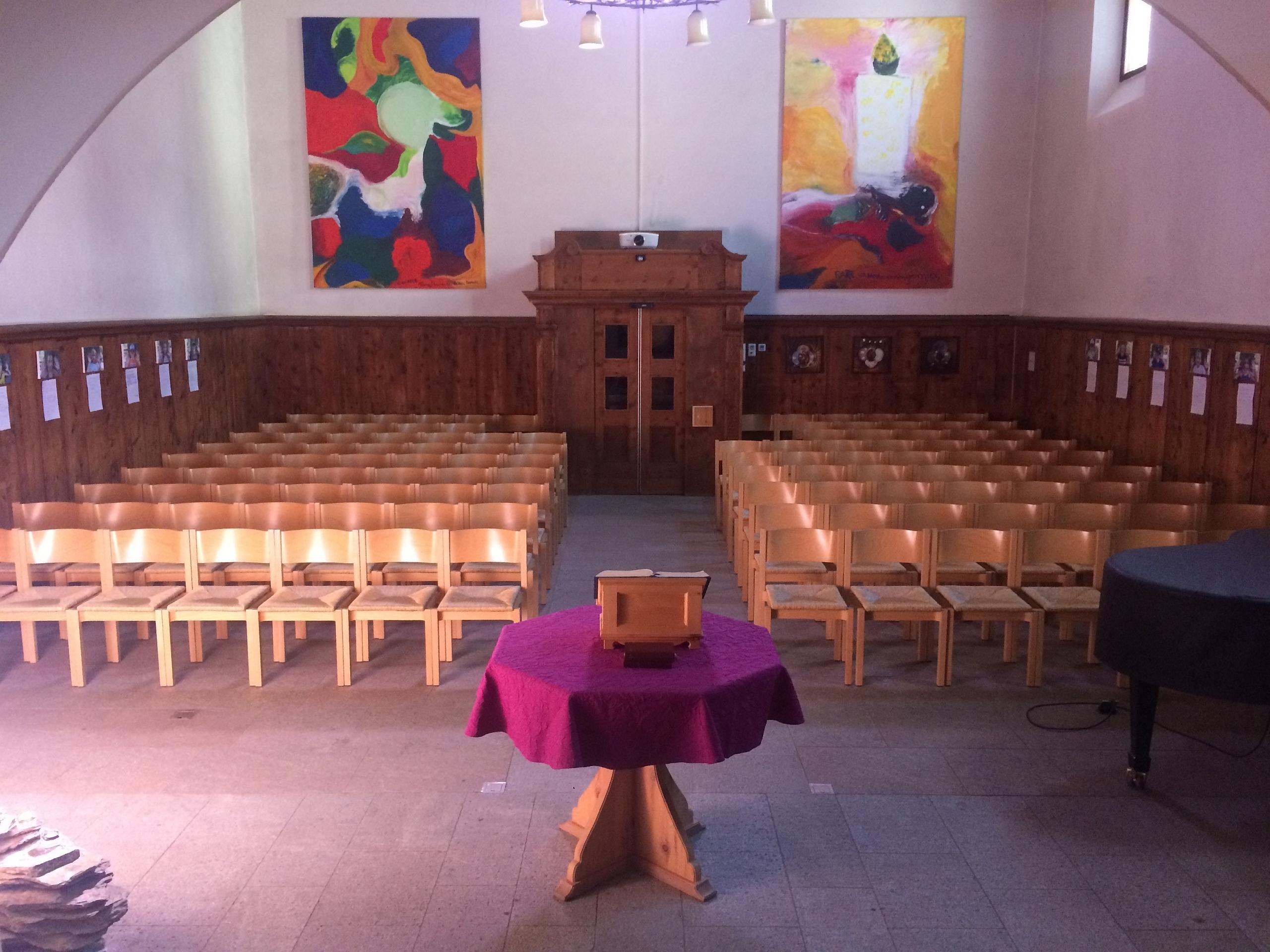 Offene Kirche Sils Slide 1