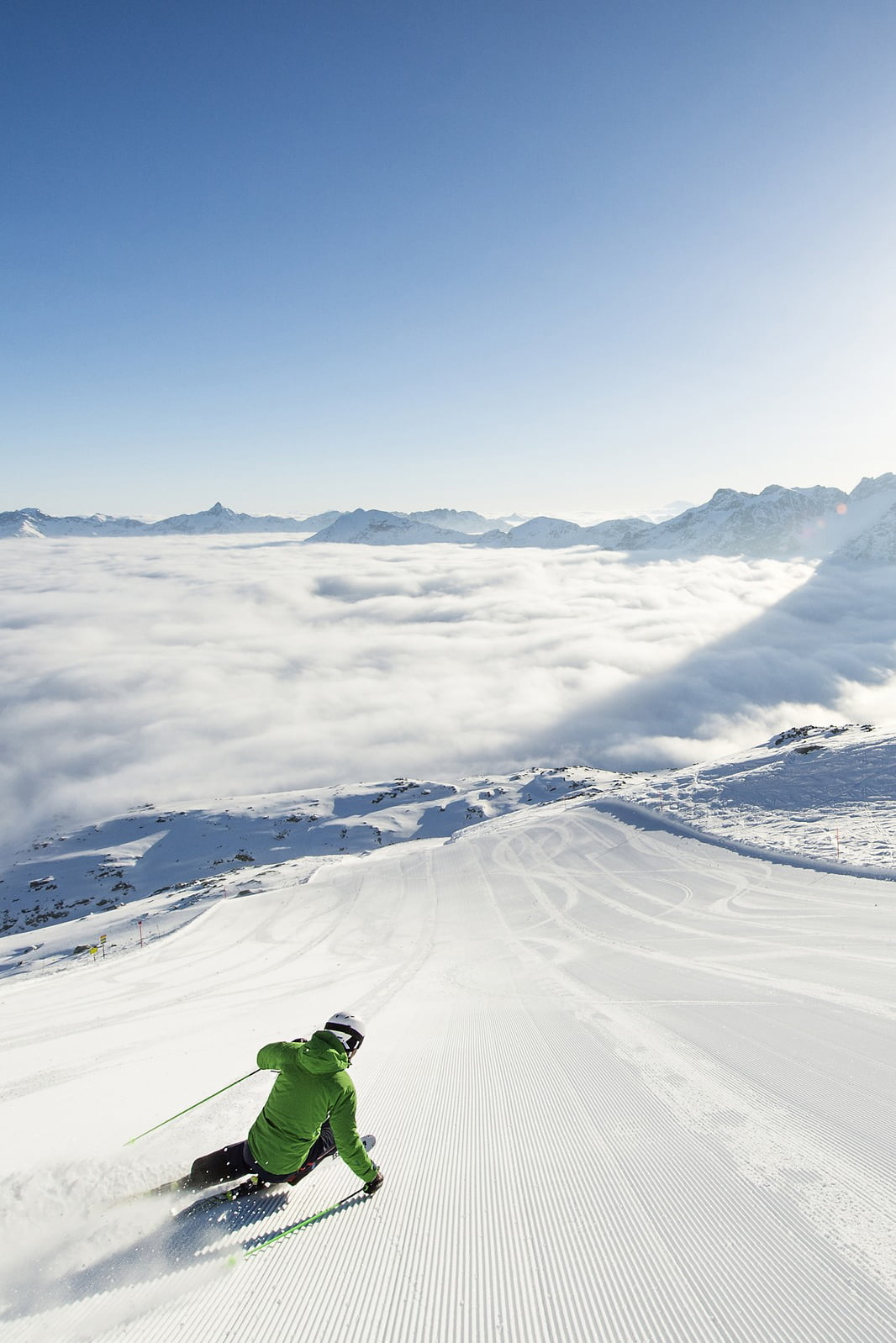 Sleep + Ski