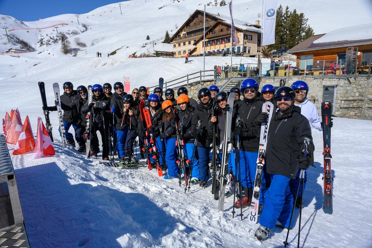 India Workshop in St. Moritz Slide 1