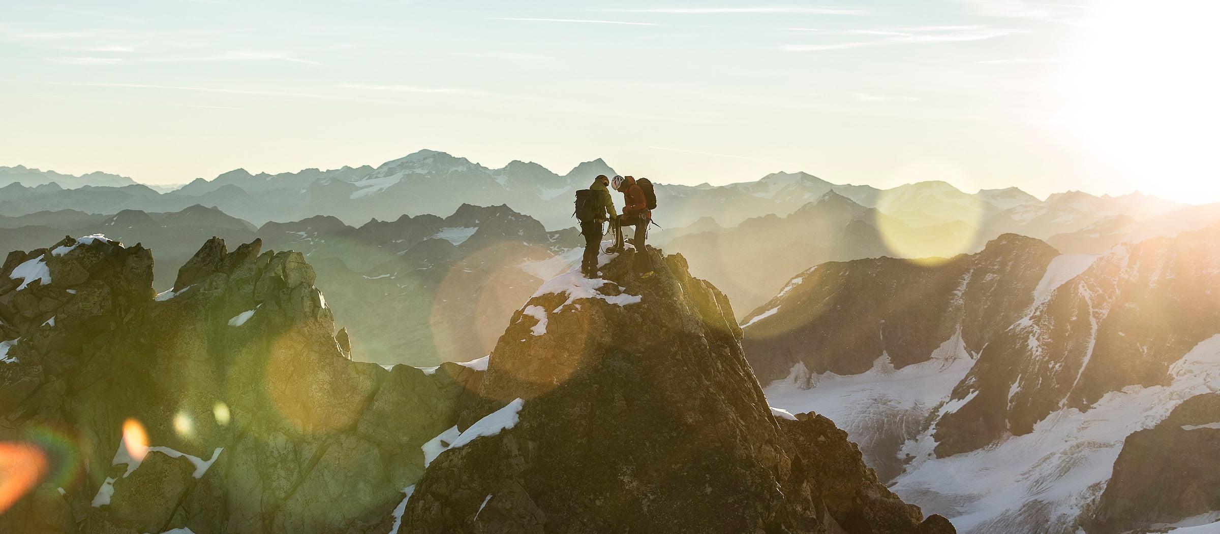 Mountain Tour at Piz Bernina