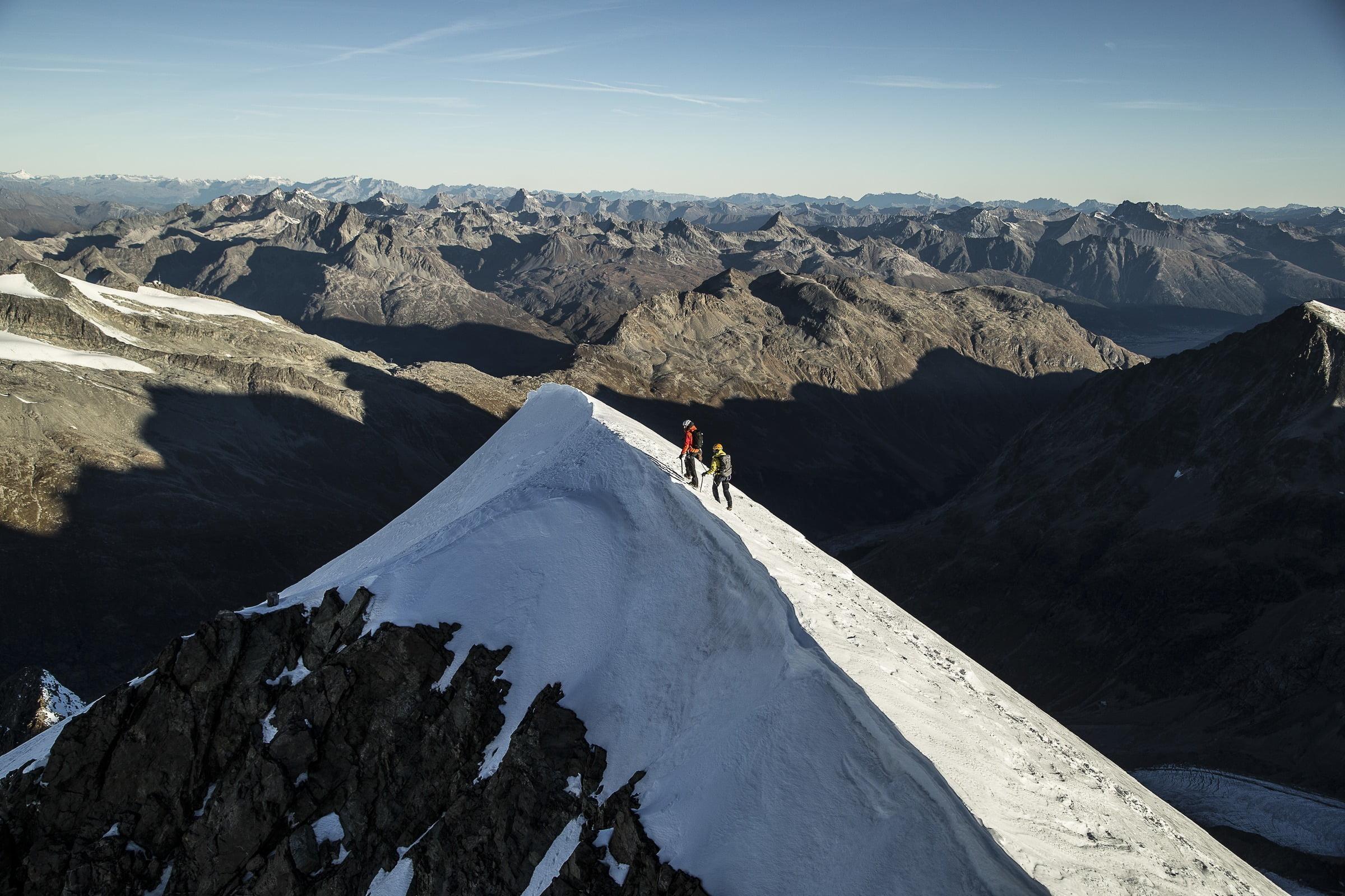 Mountain Tour Piz Bernina