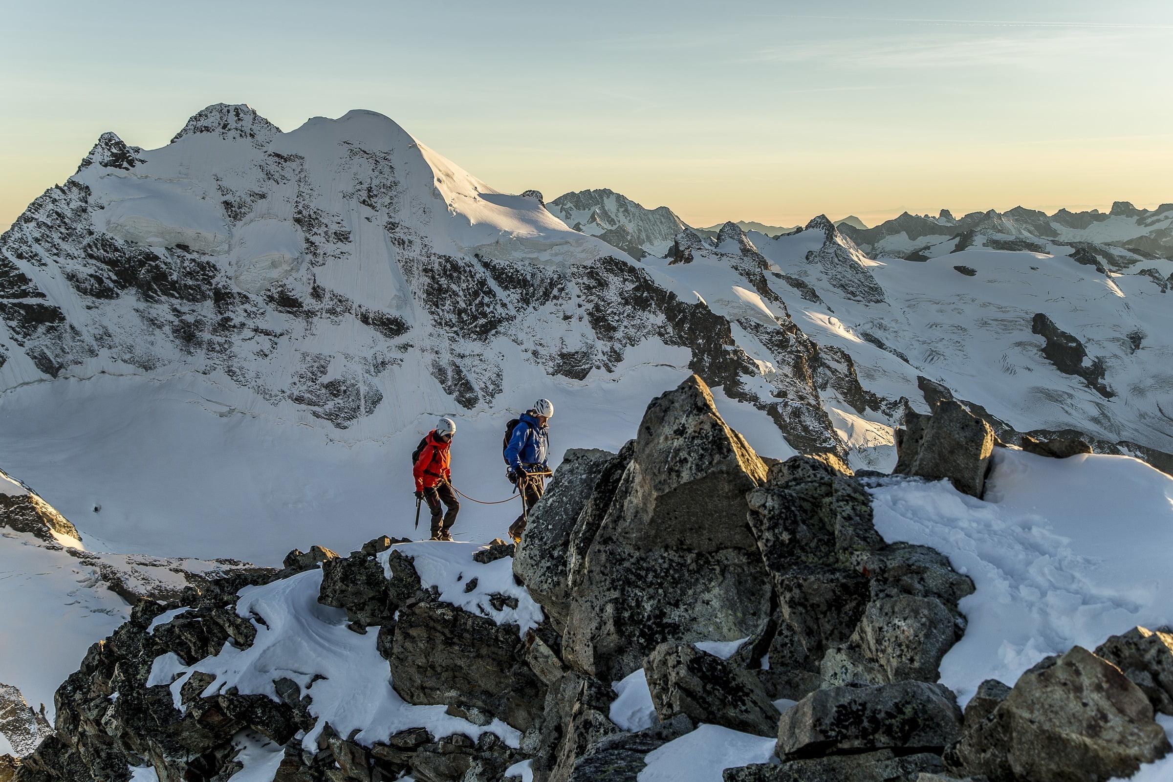 Alpine tour at Piz Morteratsch