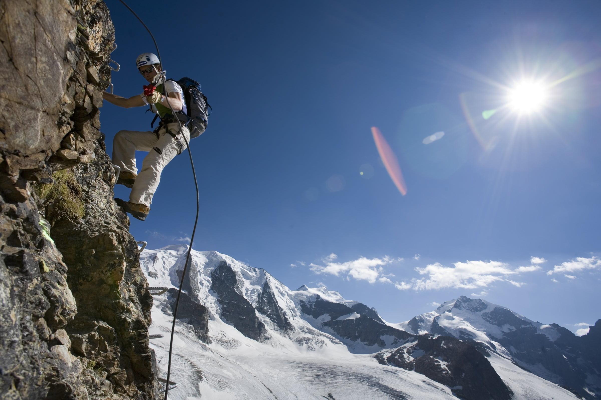 Diavolezza Climbing