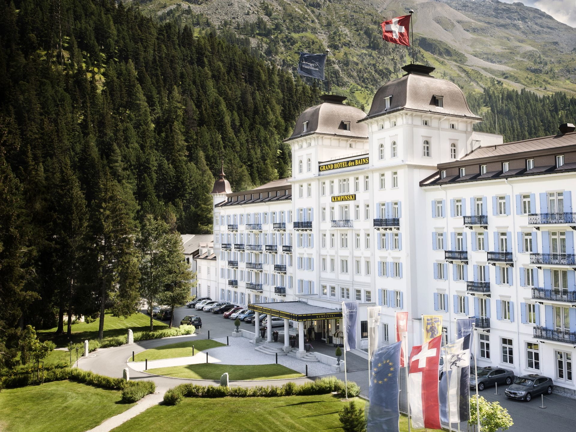 Kempinski Grand Hotel des Bains, St. Moritz