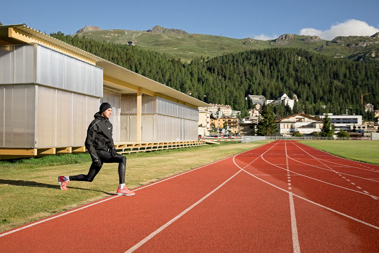 Running at St. Moritz