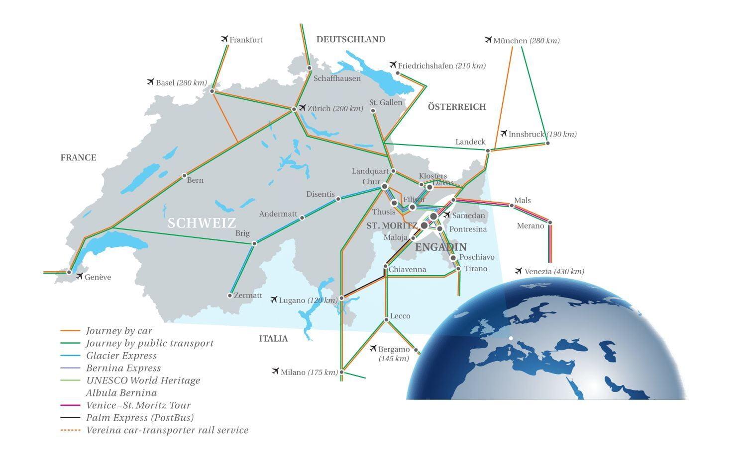 Engadin Maps