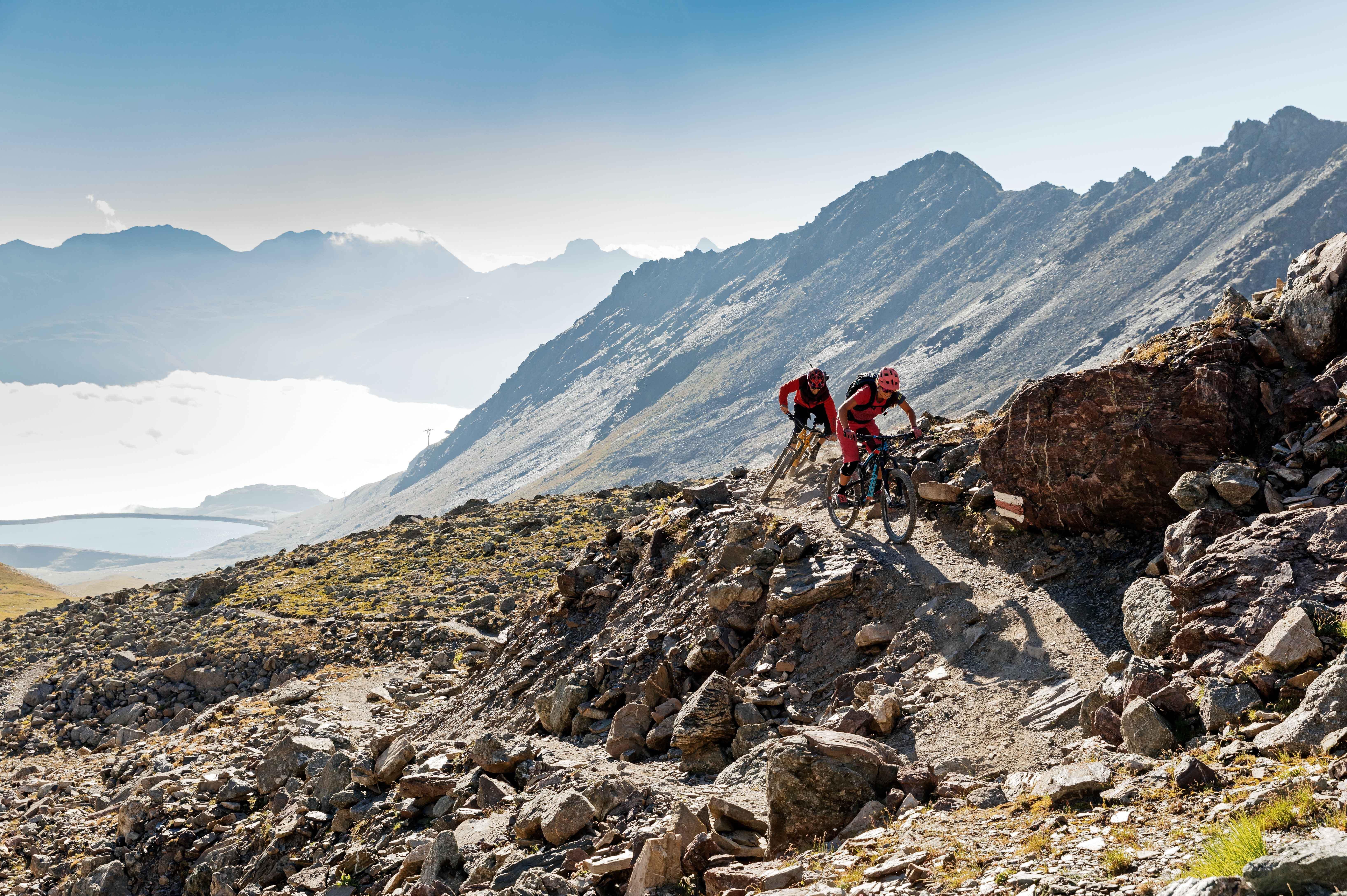 Val Schlattain Mountainbike Trails