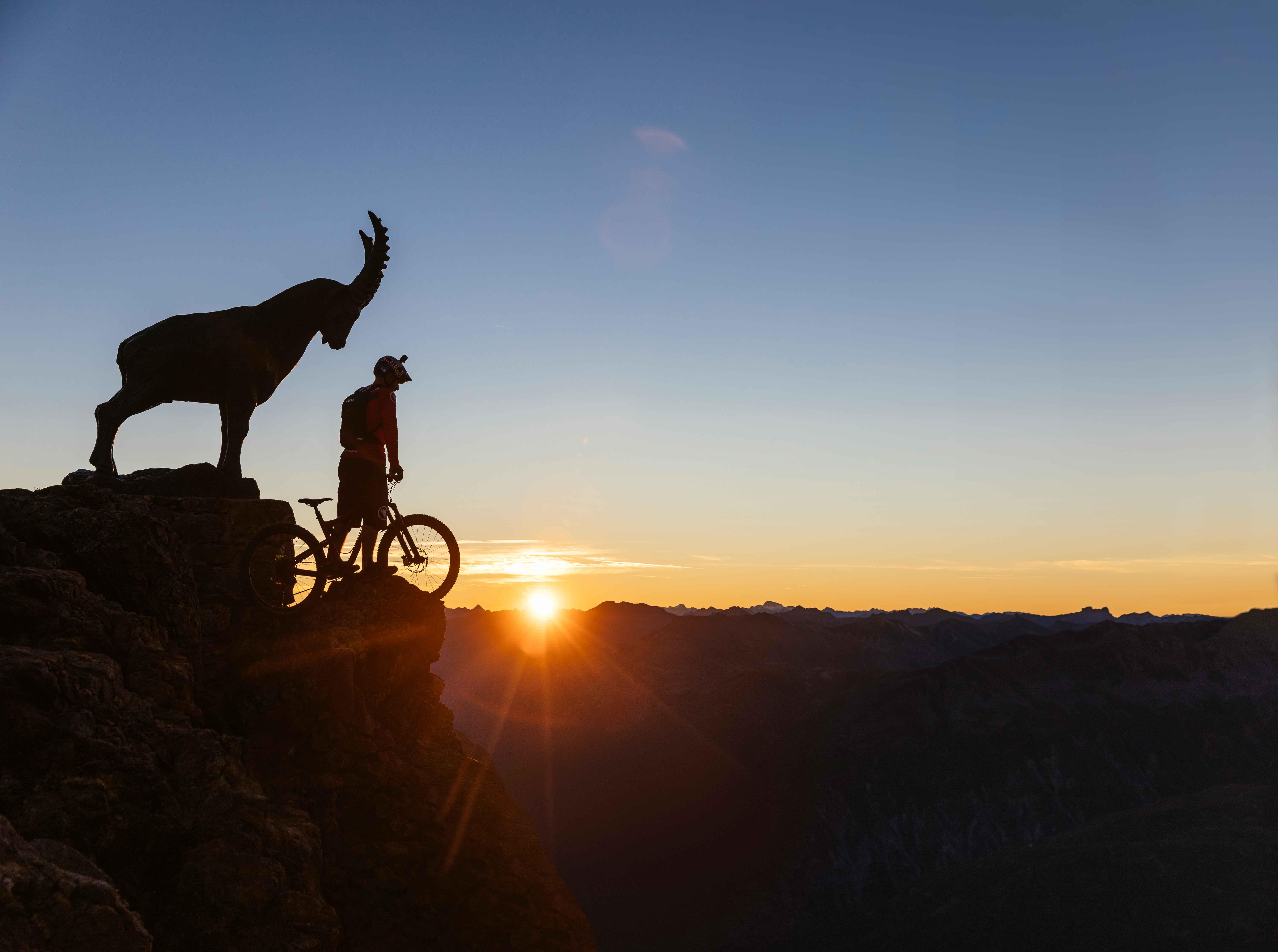 Piz Nair Sunrise (3,057m)