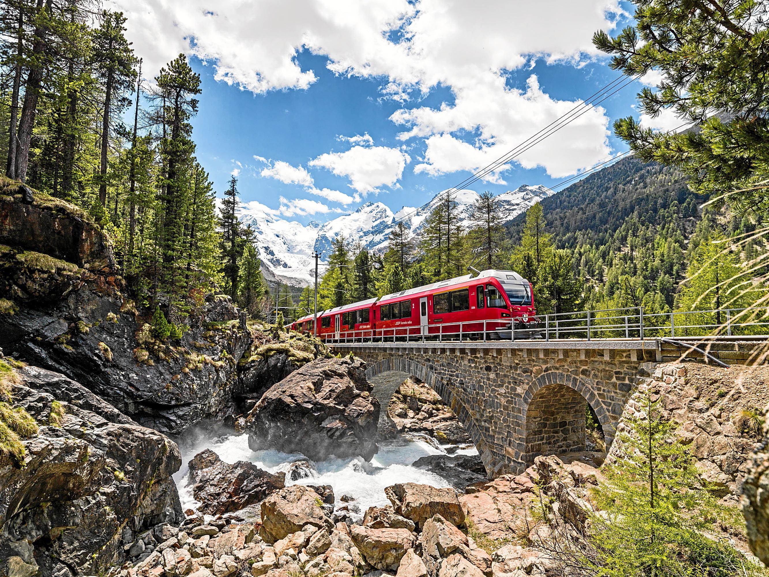 Bernina Express Route 673