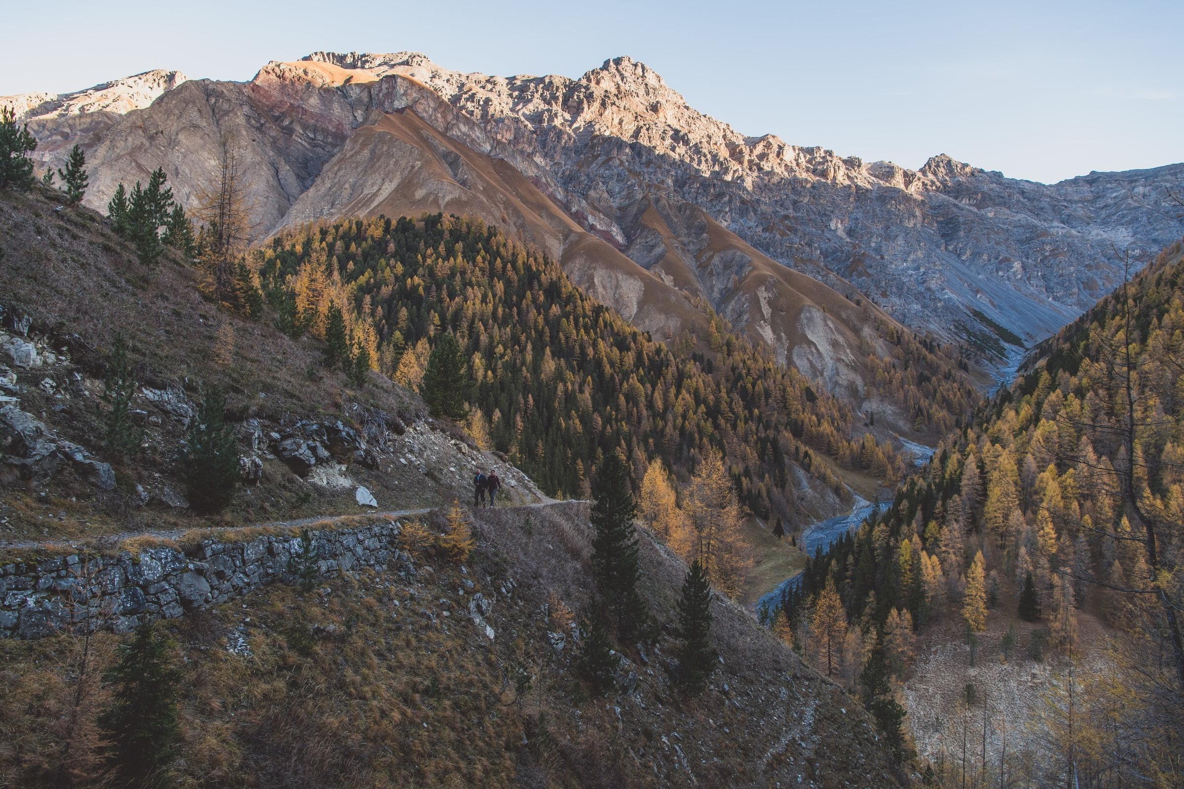 Wandern im Schweizerischen Nationalpark