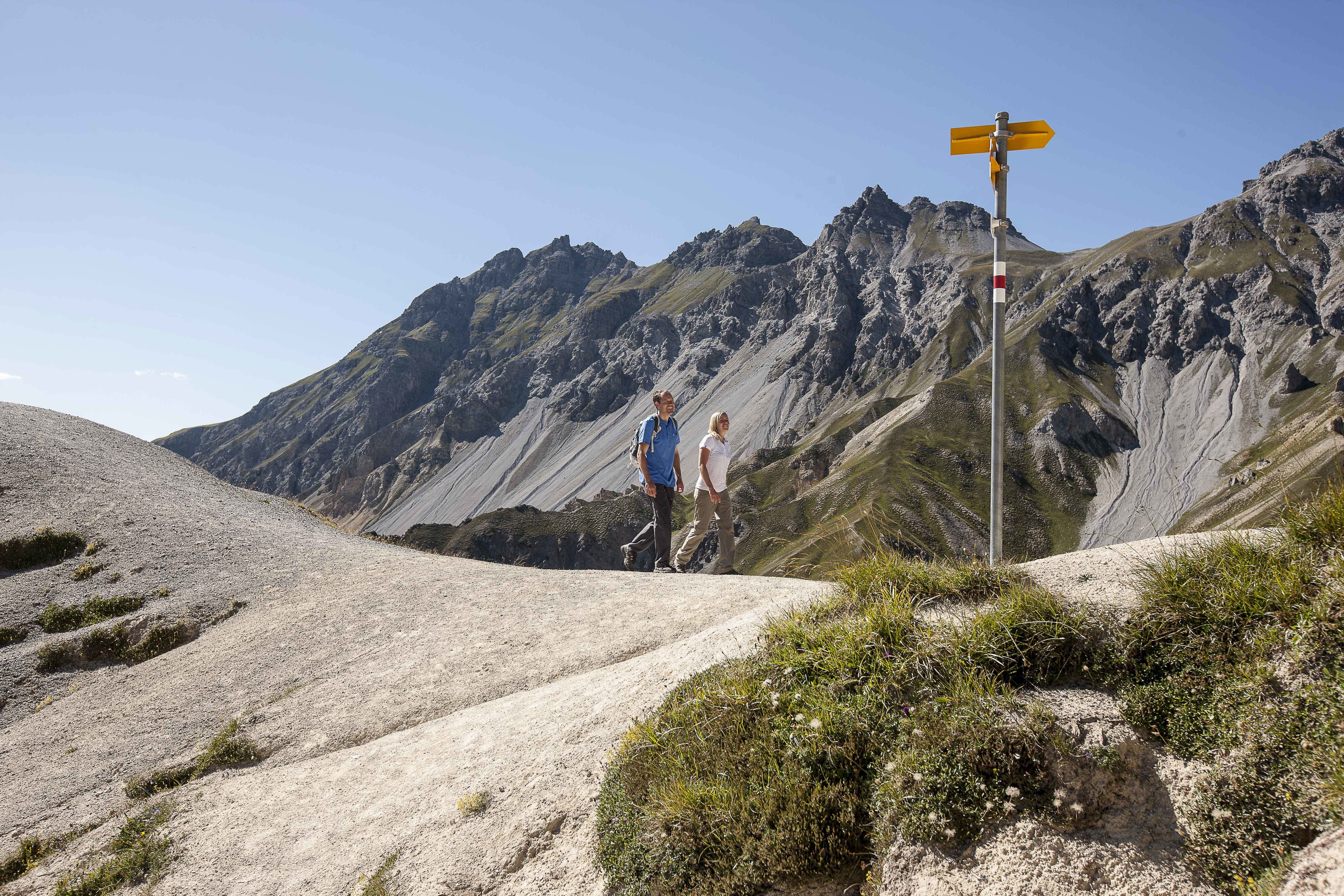 Hiking the Swiss National Park