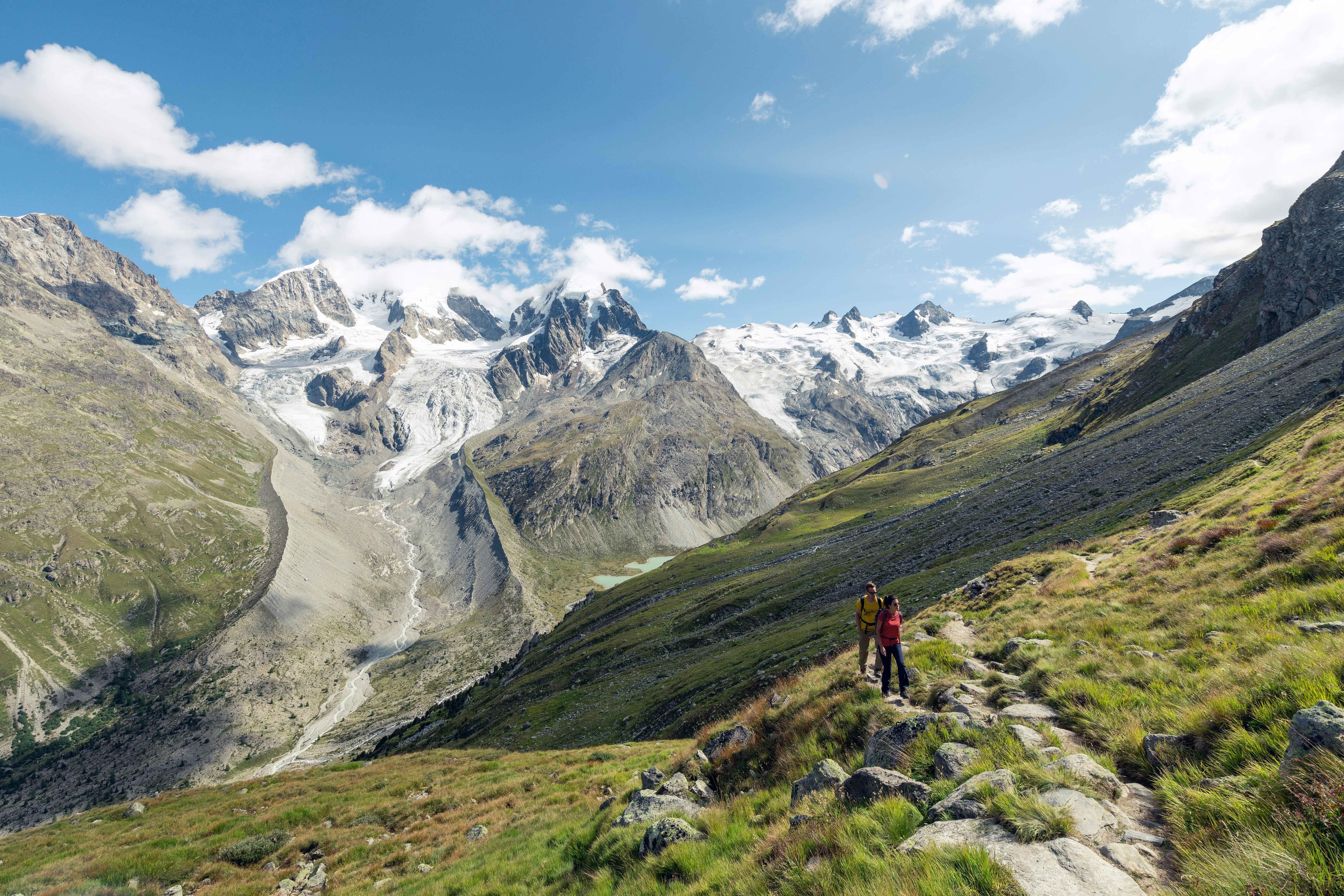 Roseggletscher - Bernina Tour