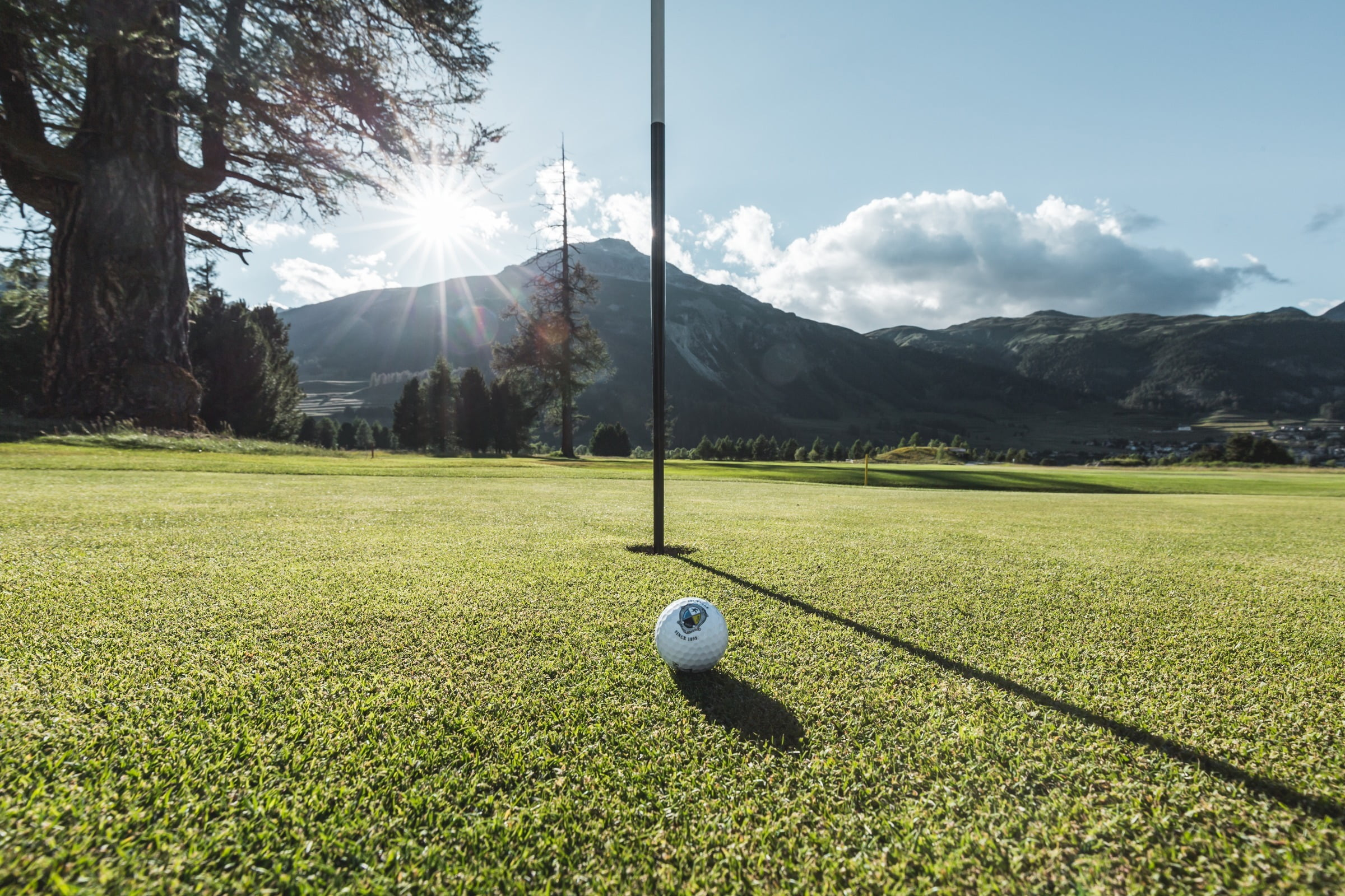 Play golf in the Engadin