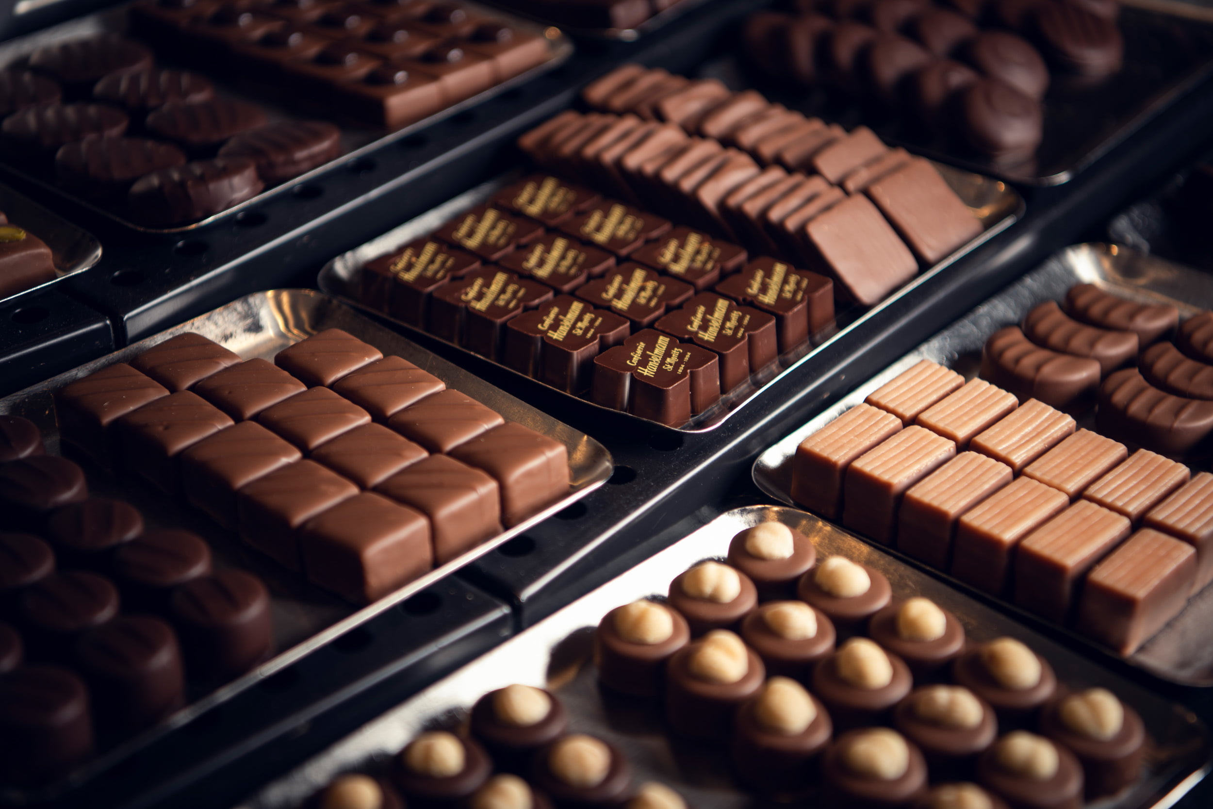 Chocolate specialties Hanselmann St. Moritz
