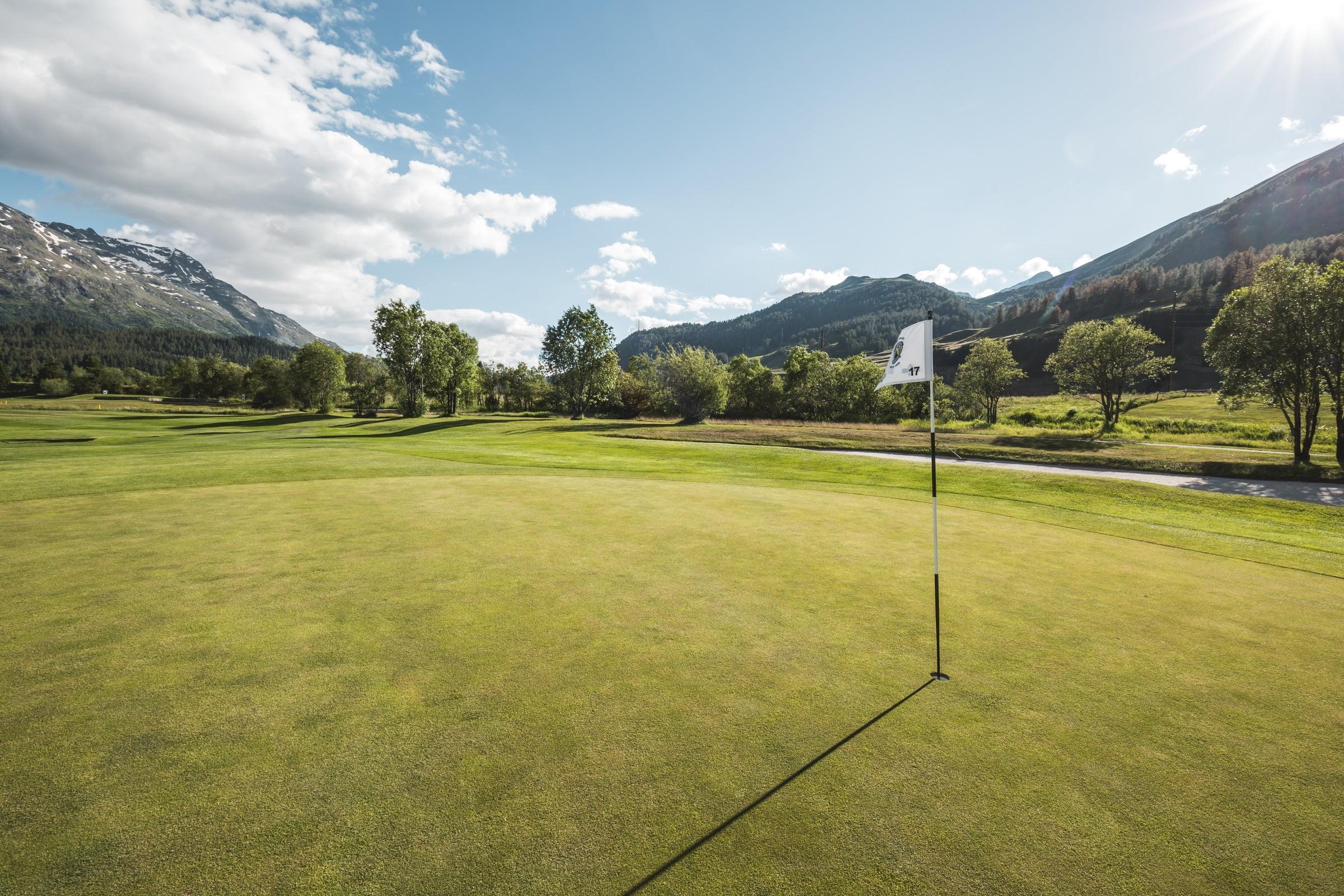 Golfplatz Samedan