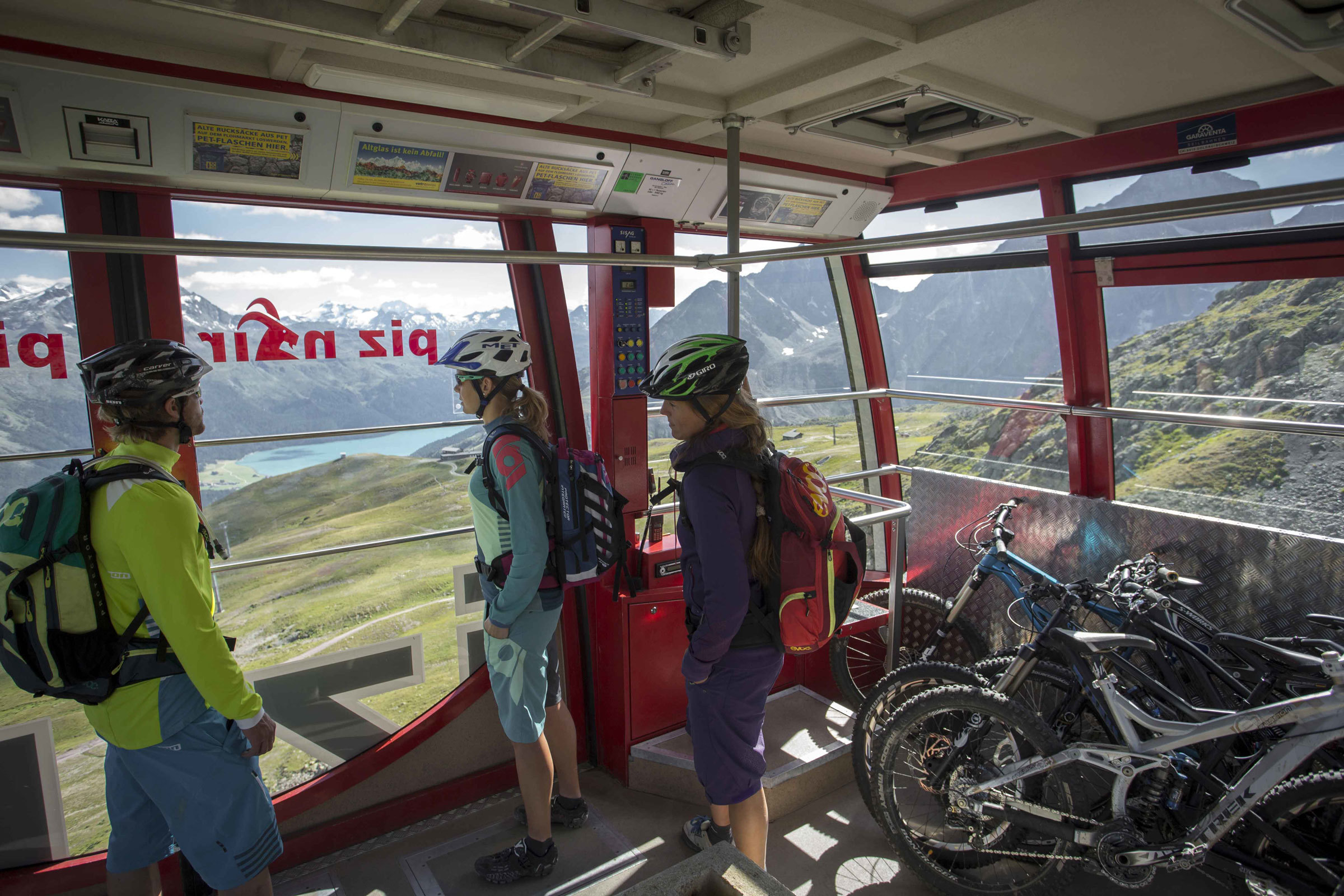 E-Bike Transport: Corviglia
