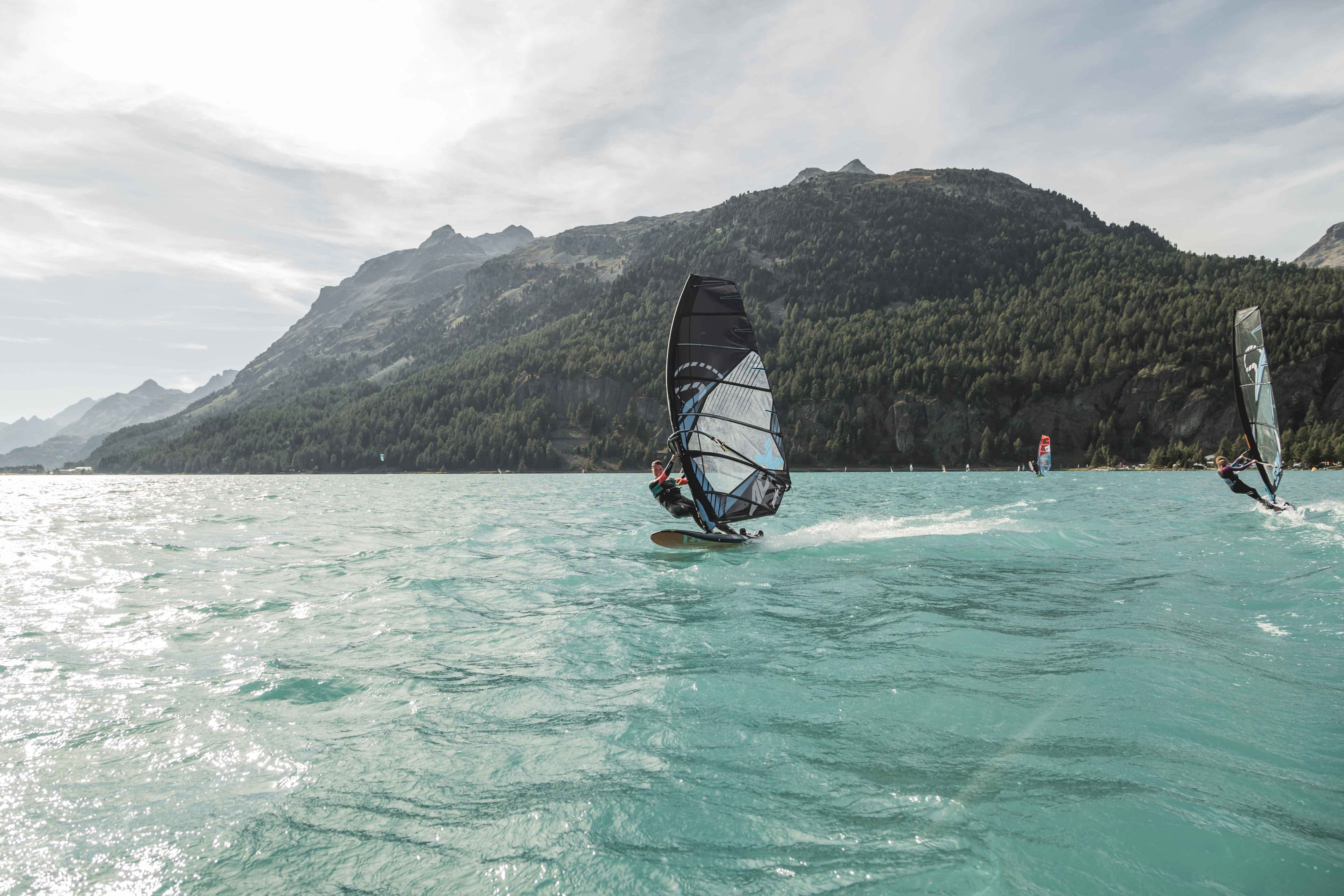 Home of alpine windsurfing