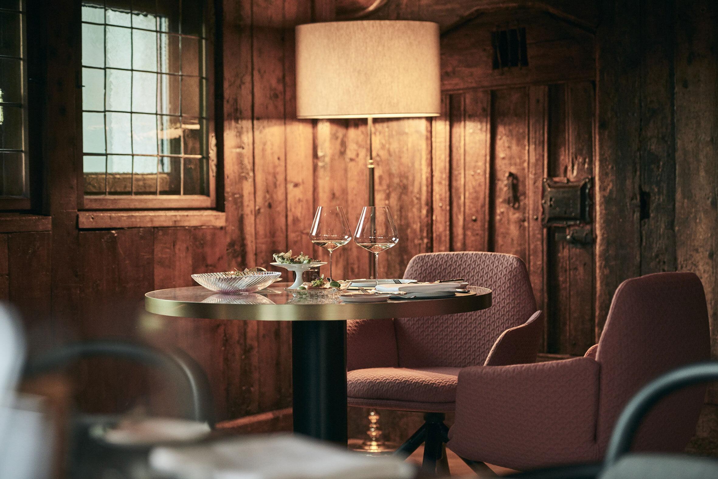 IGNIV by Andras Caminada St. Moritz Schweiz - Badrutt's Palace Hotel
