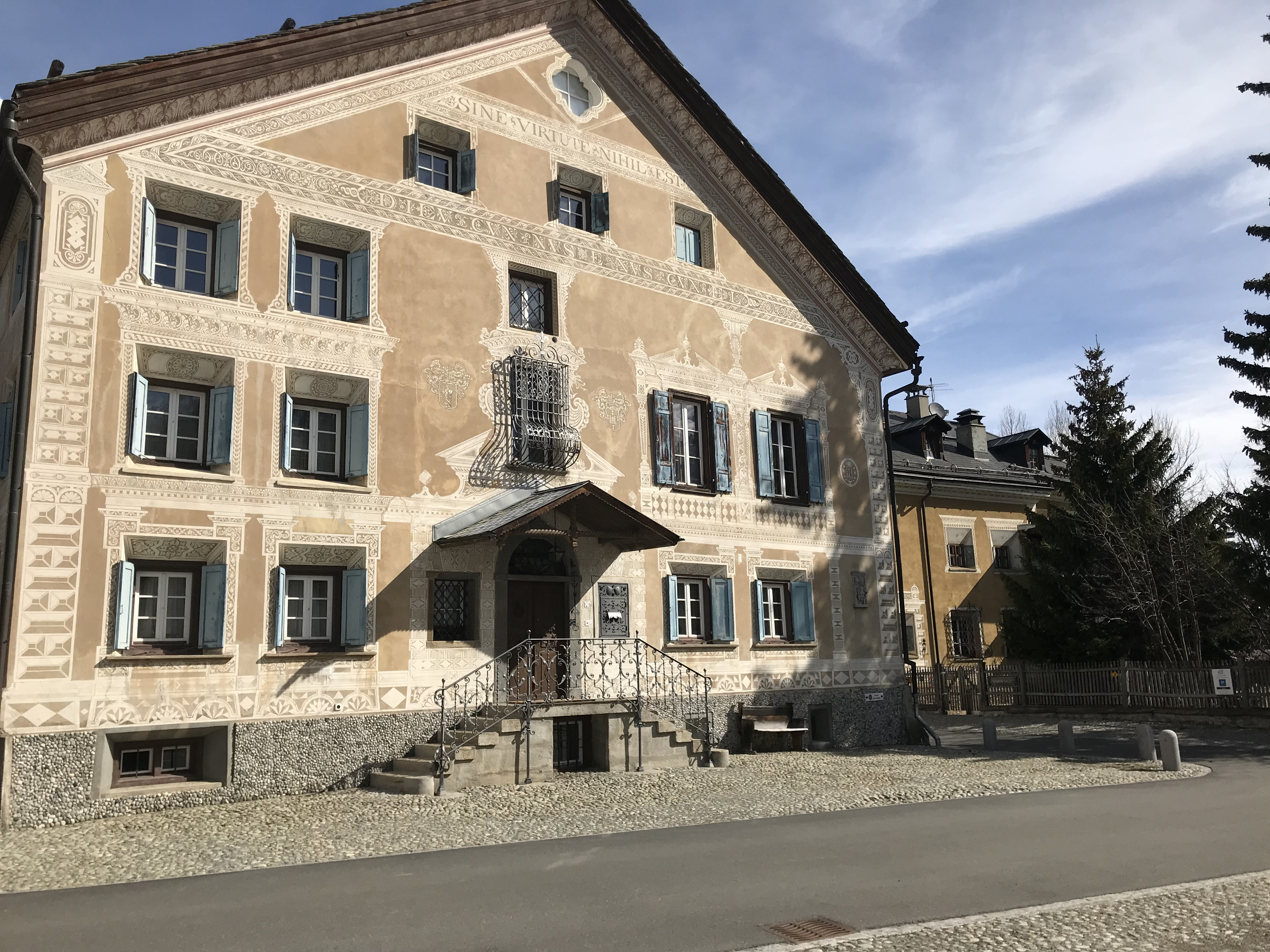 Historical village centre Bever Slide 1