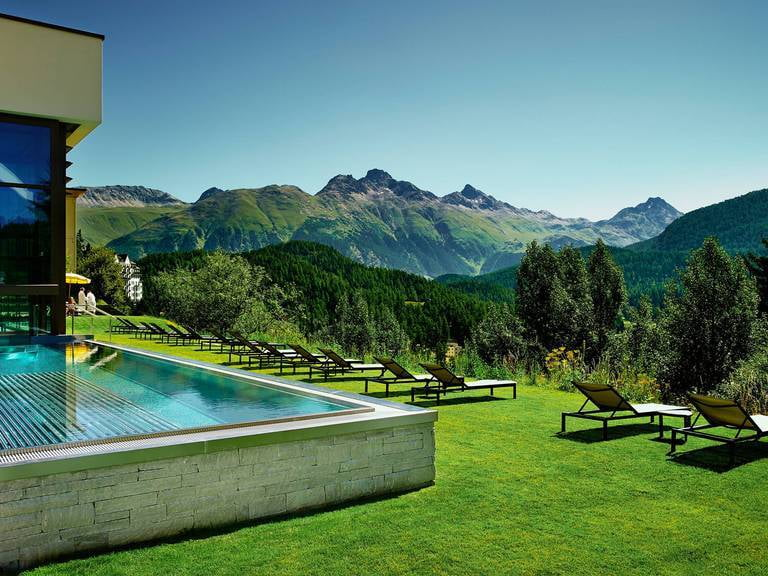 Kulm Hotel Outdoor Pool