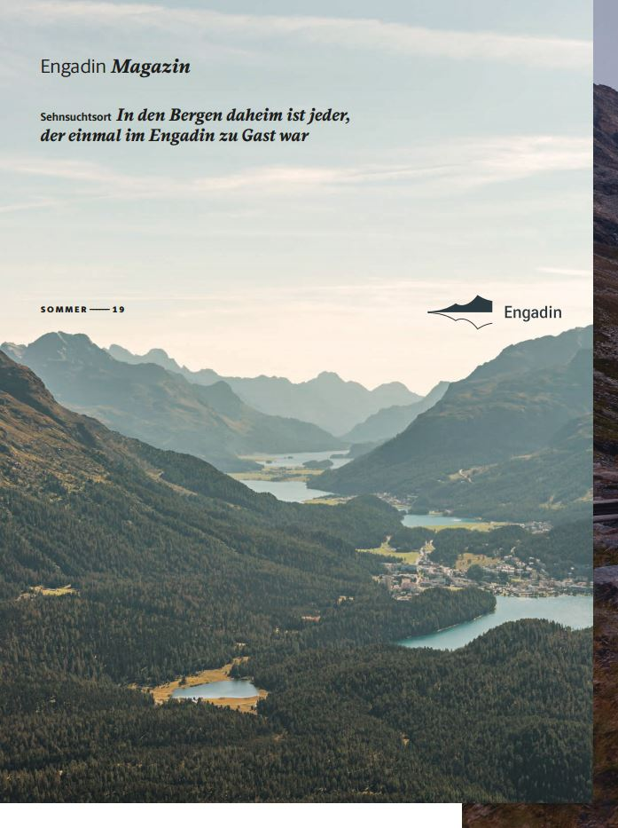 Neues Magazin: «Engadin» Slide 1