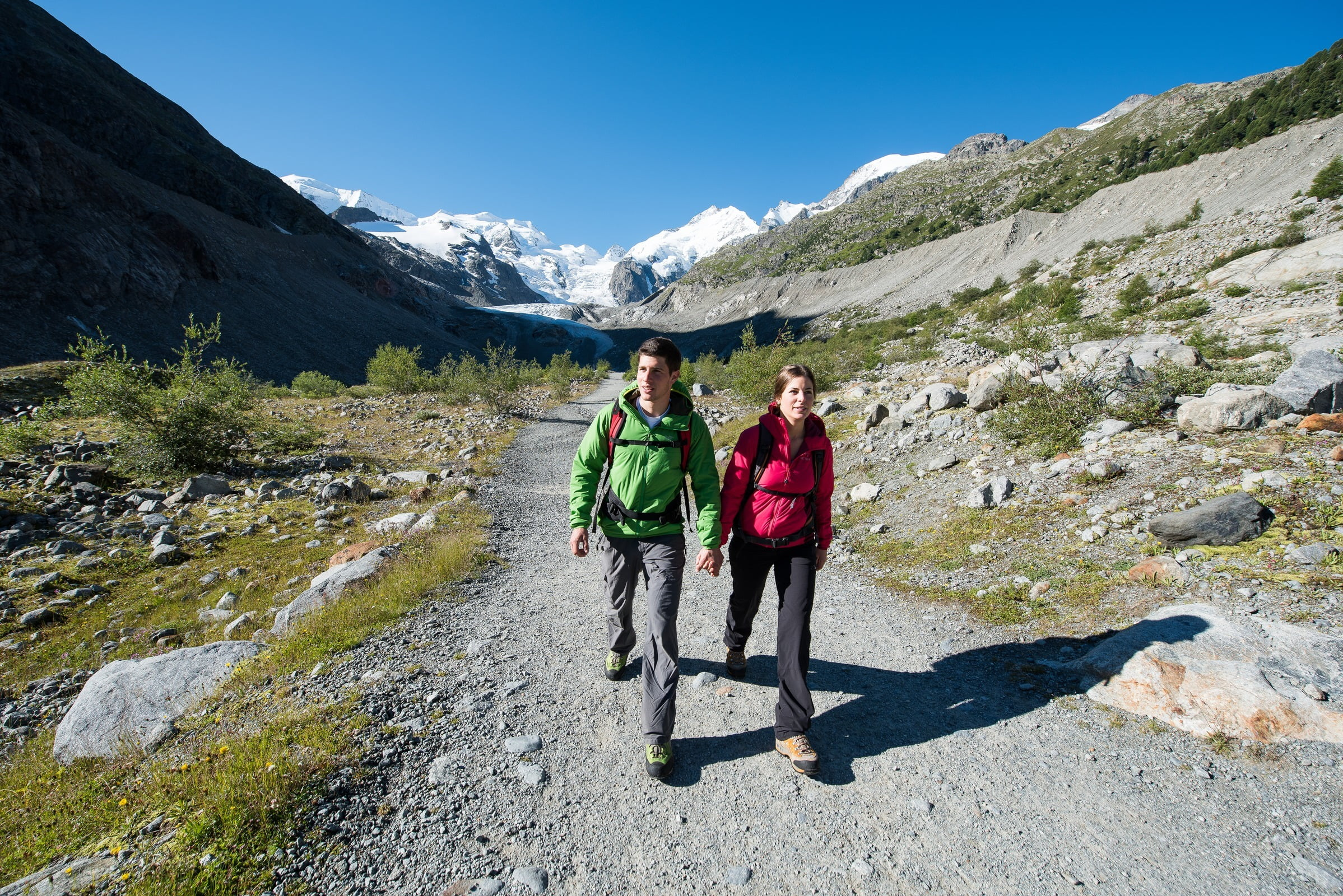 Glacierwalk Morteratsch