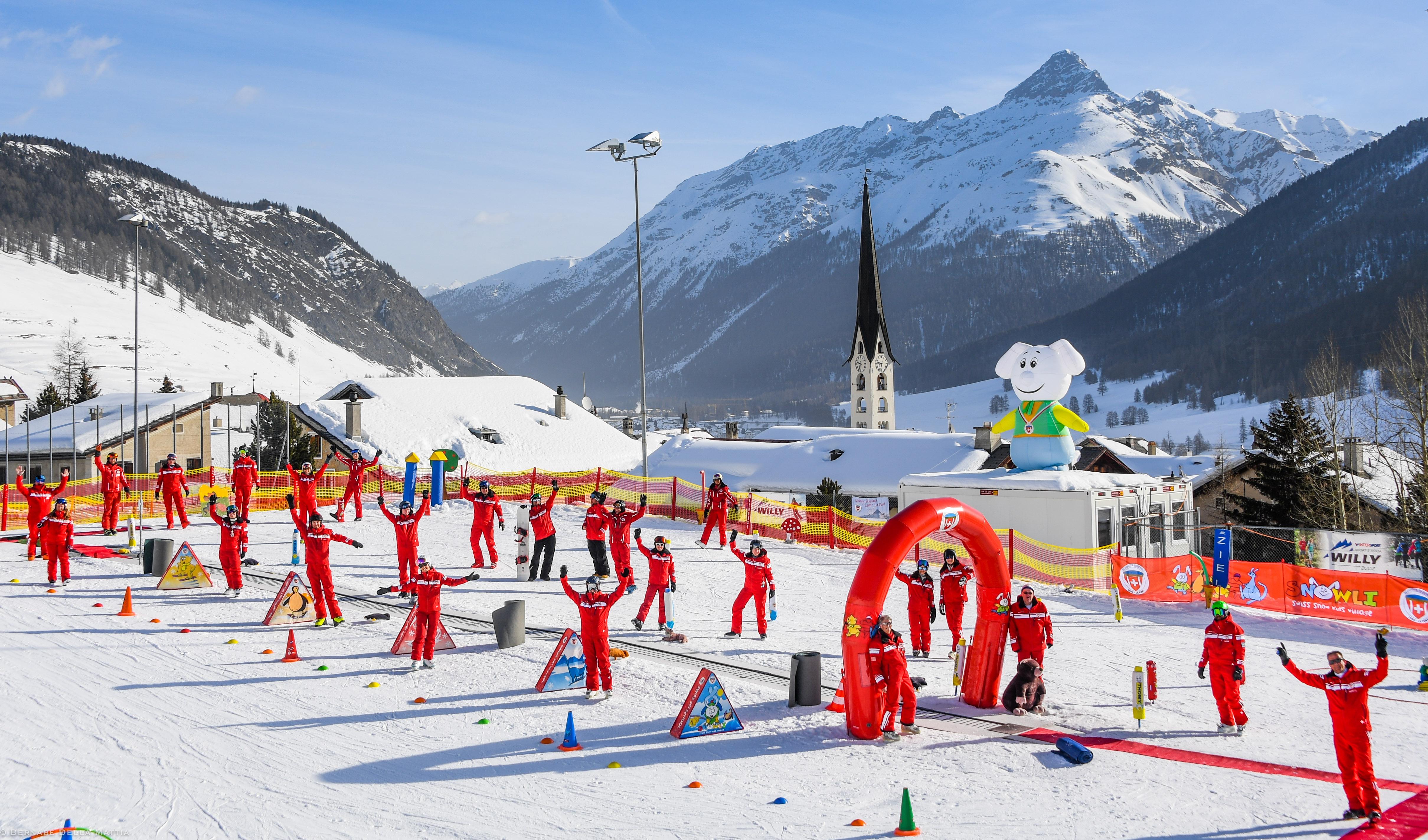 Schweizer Skischule Zuoz – La Punt AG Slide 3