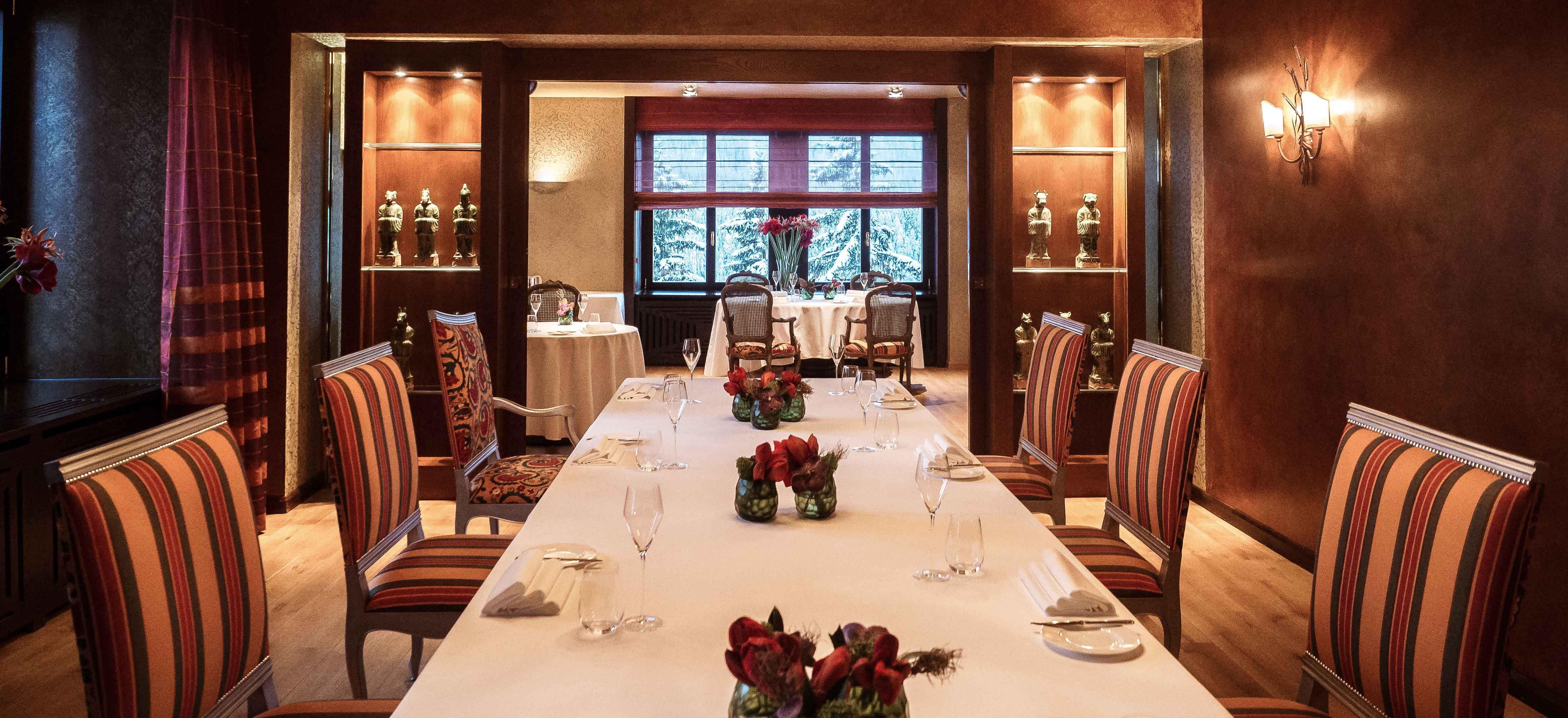 Restaurants in St. Moritz