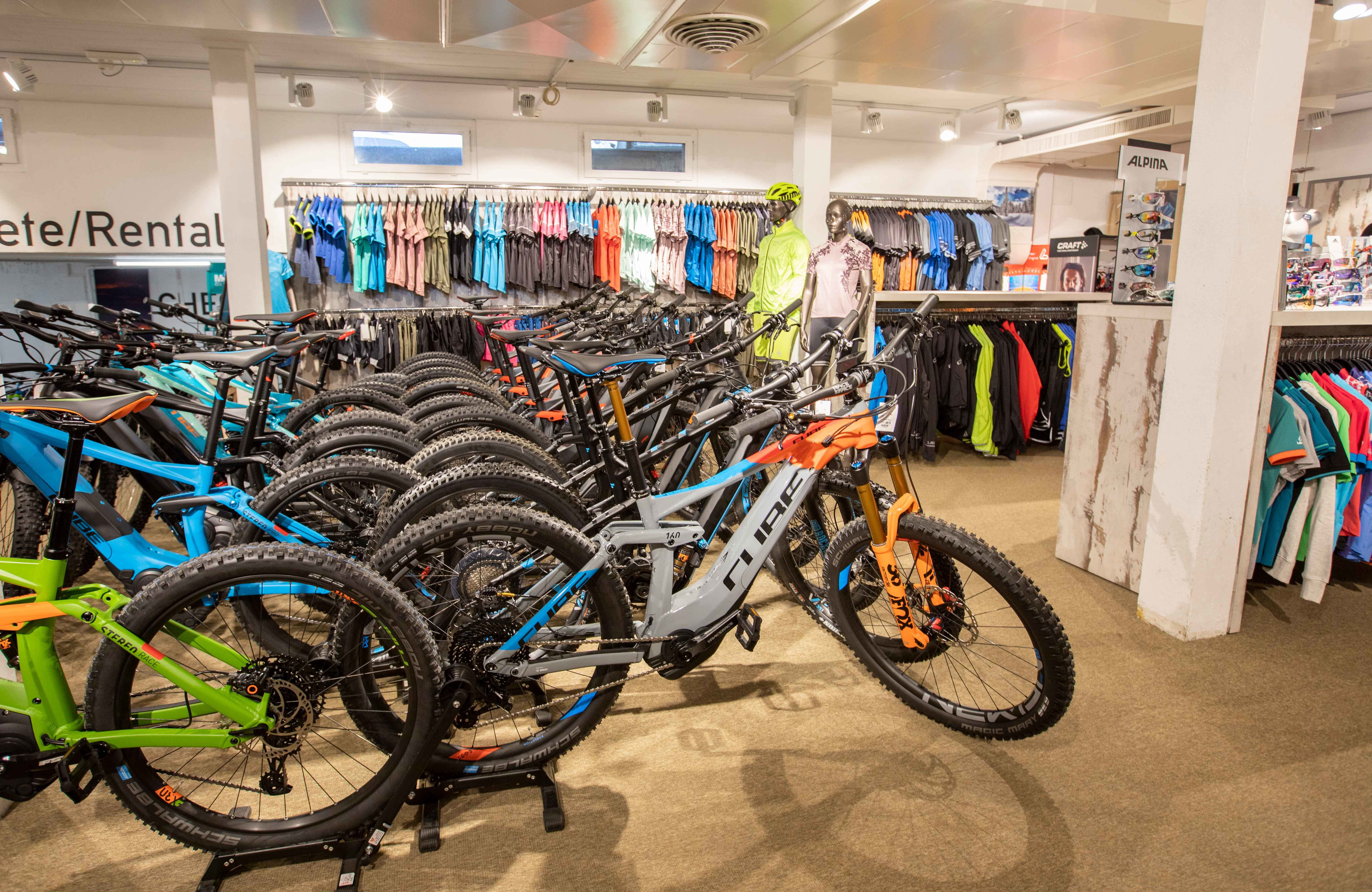 Mountainbike Shop & Service
