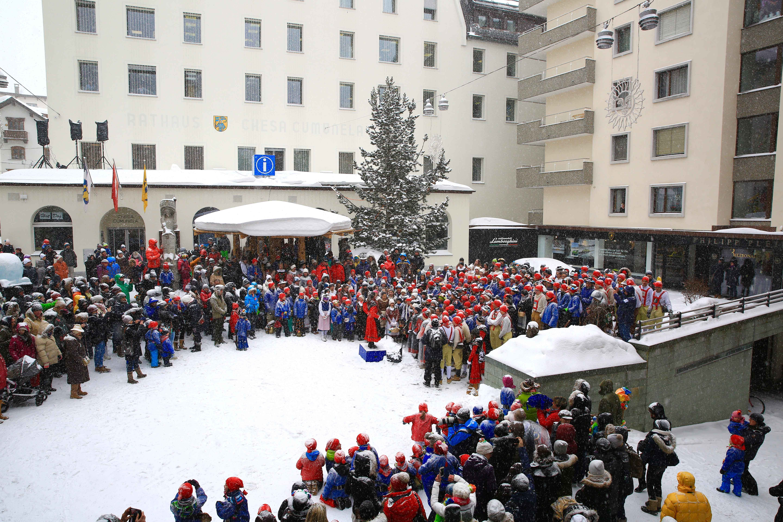 Chalandamarz in St. Moritz