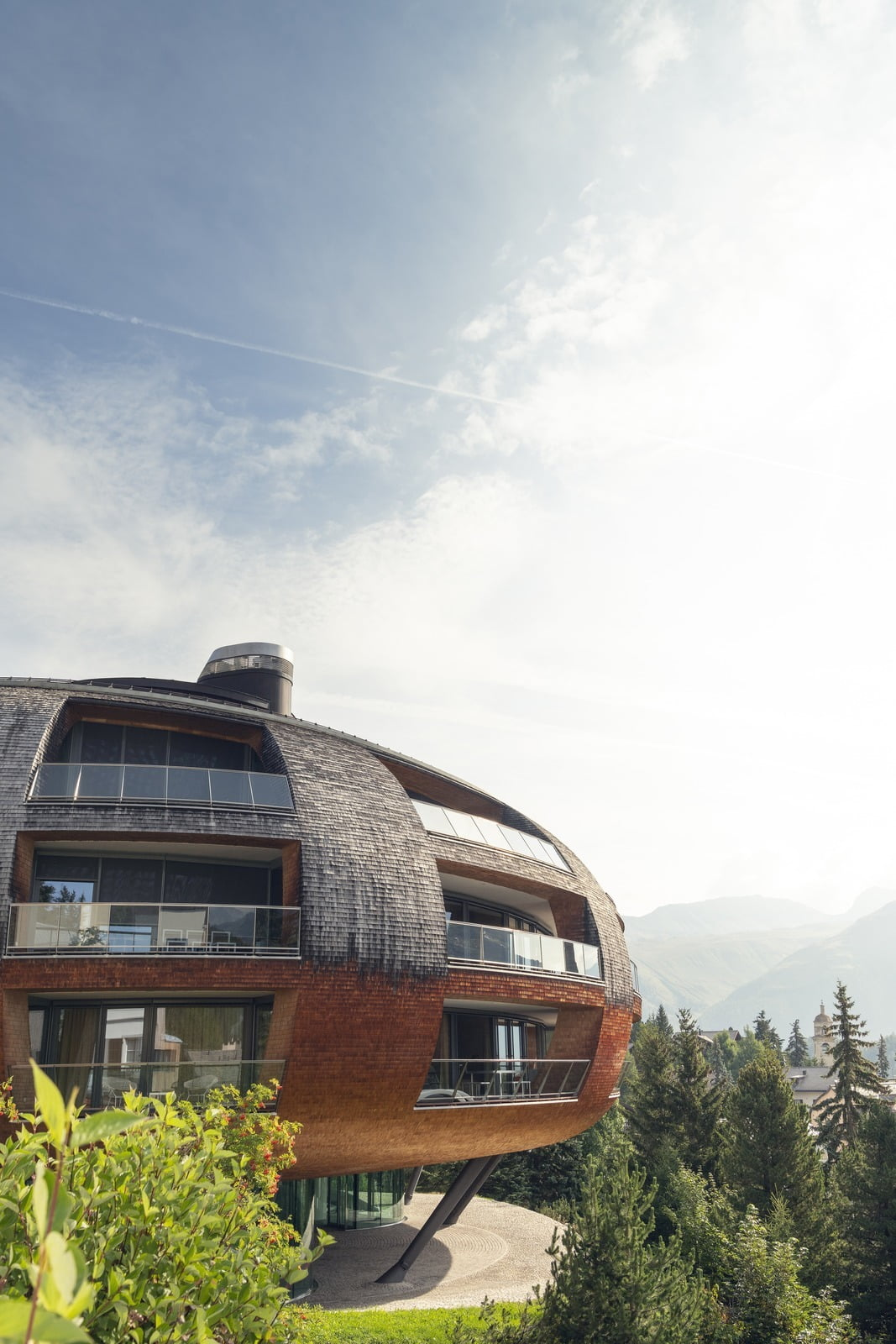 Chesa Futura, St. Moritz