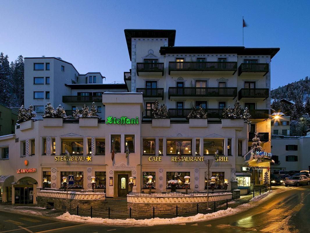 Hotel Steffani****, CH-7500 St. Moritz