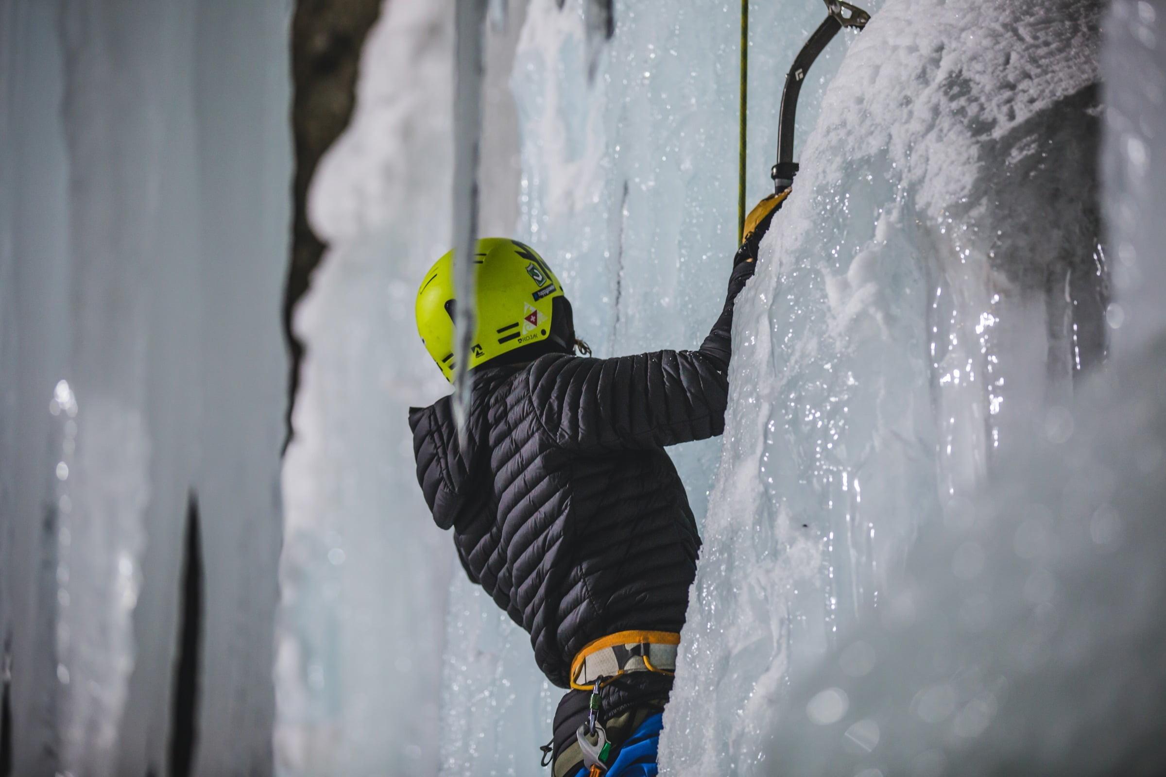 Eisklettern mit St. Moritz Experience