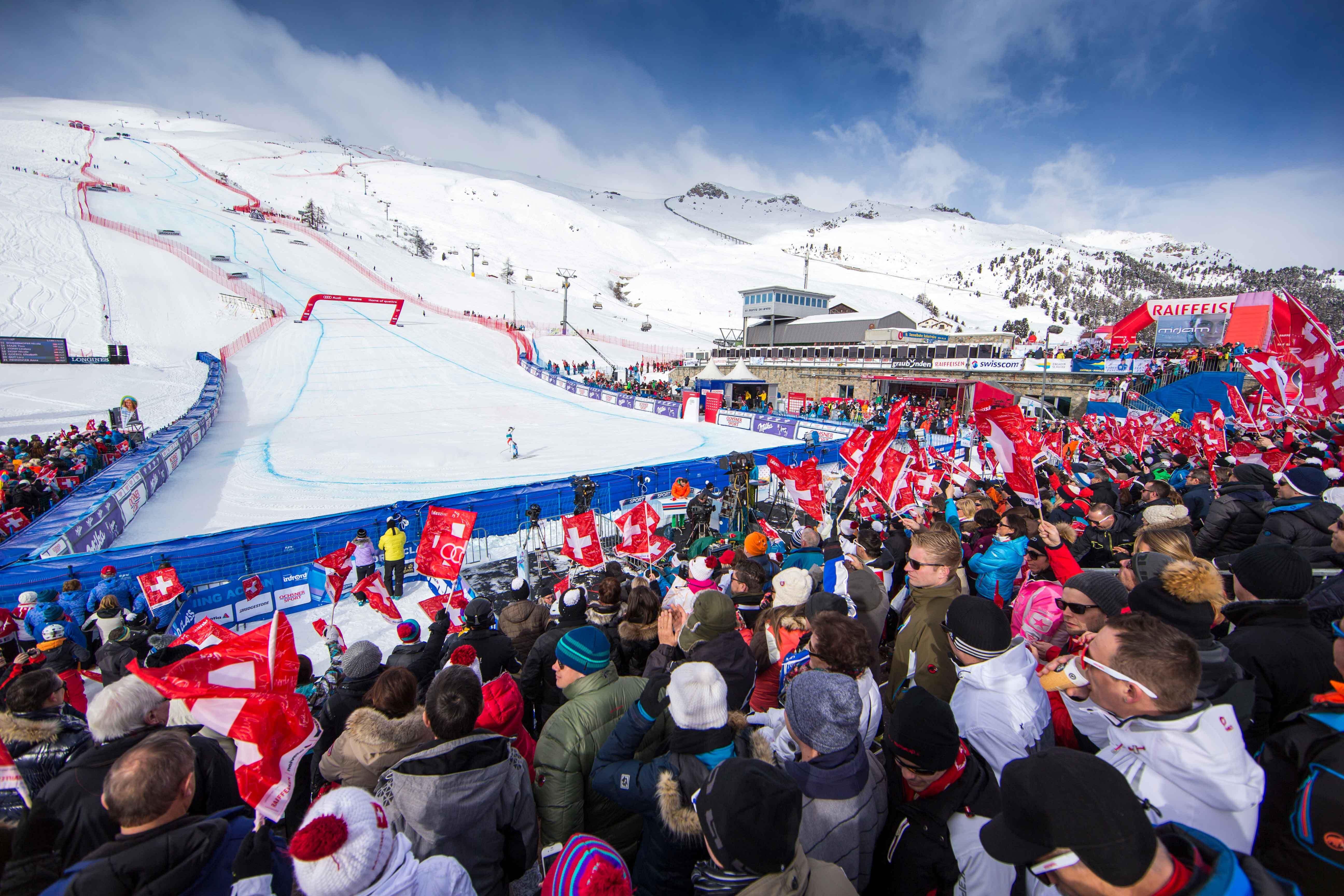 AUDI FIS Ski World Cup St. Moritz
