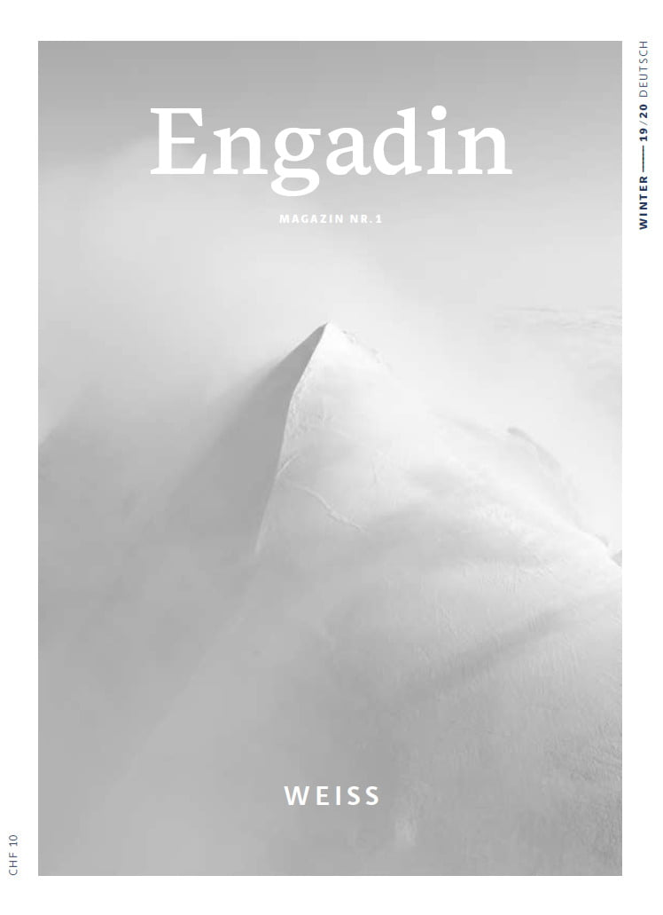 Engadin Magazin Nr. 1 - Weiss