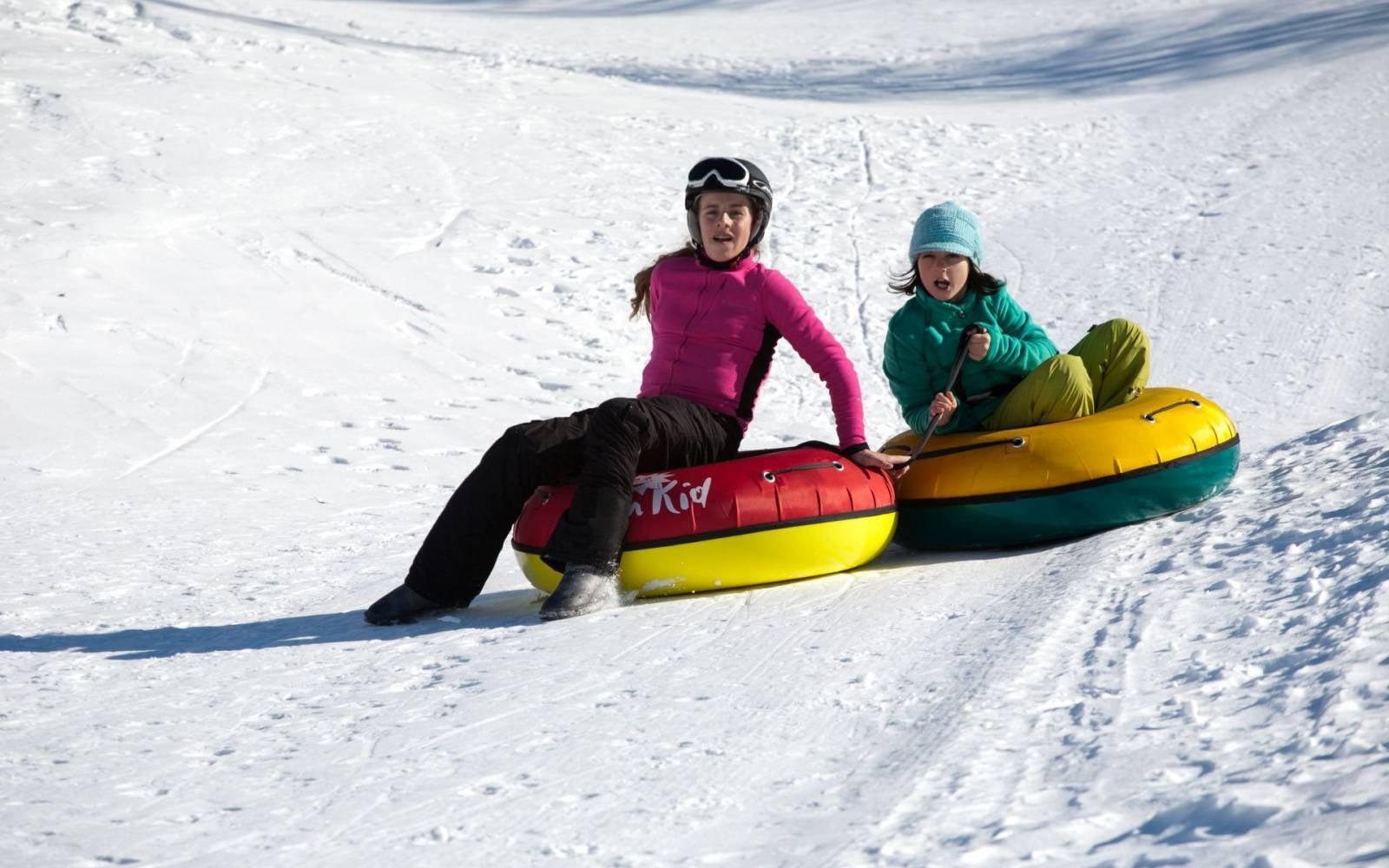 Snowtubing in Maloja