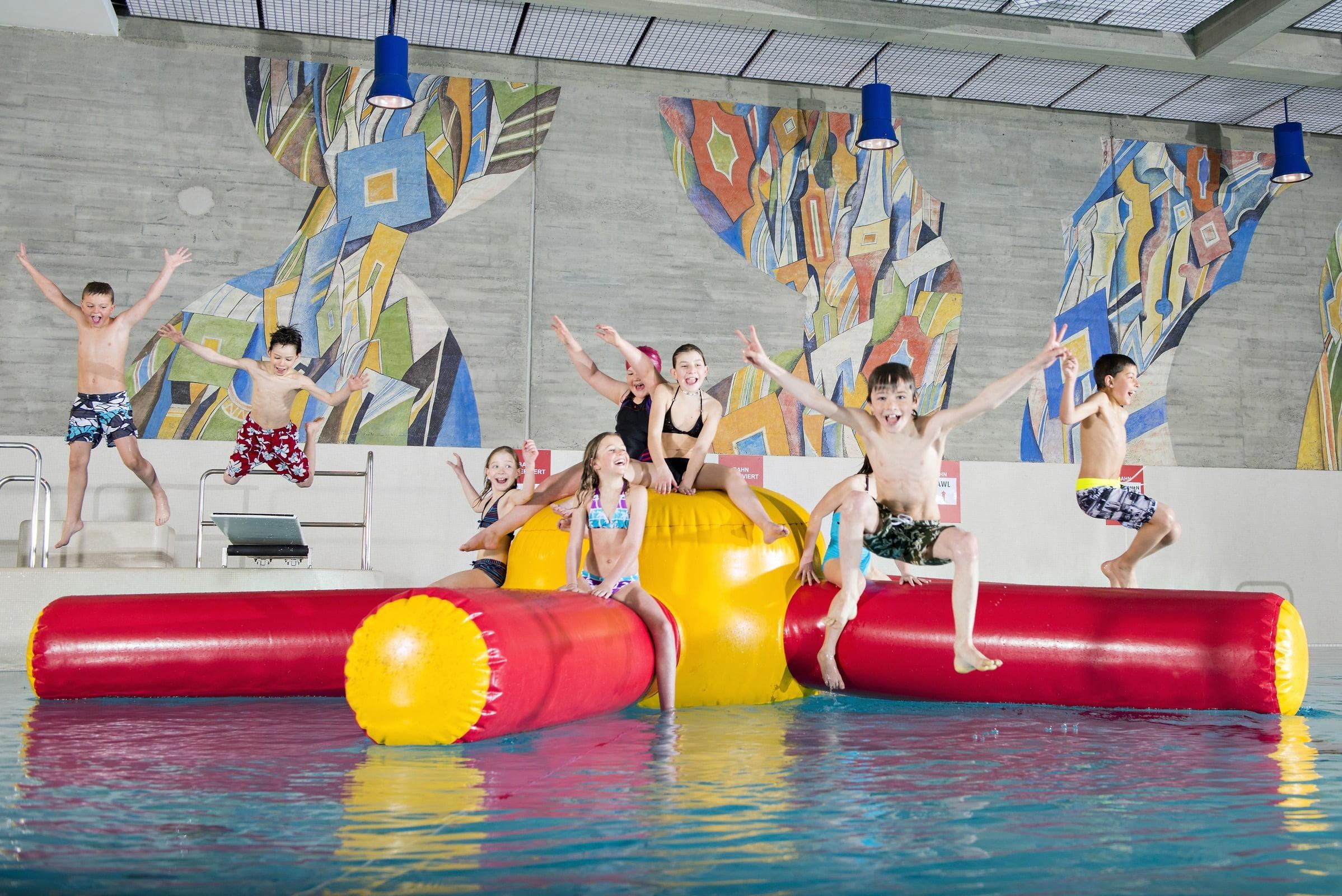 Adventure pools for children.
