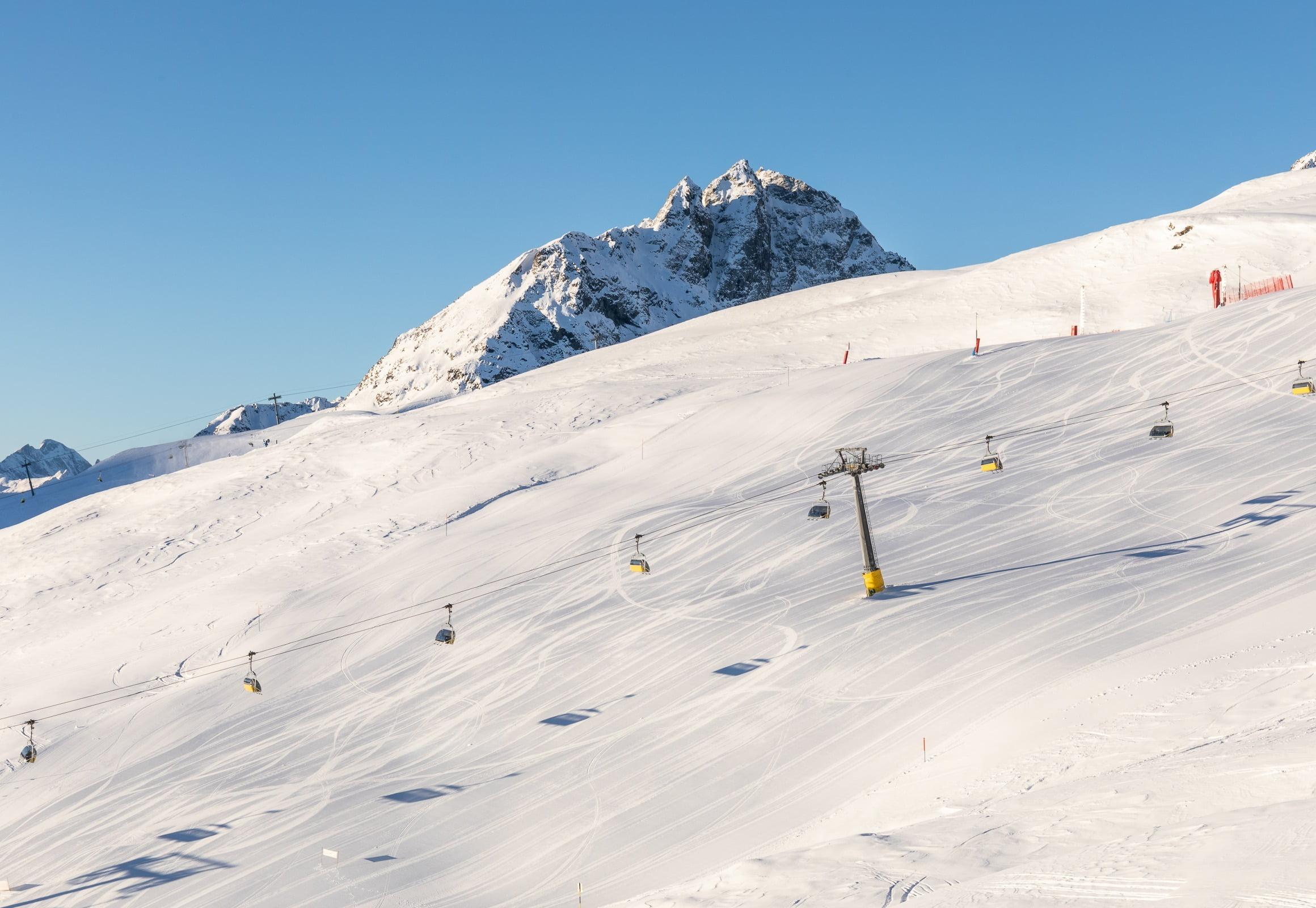 Bergbahnen und Pistenbericht