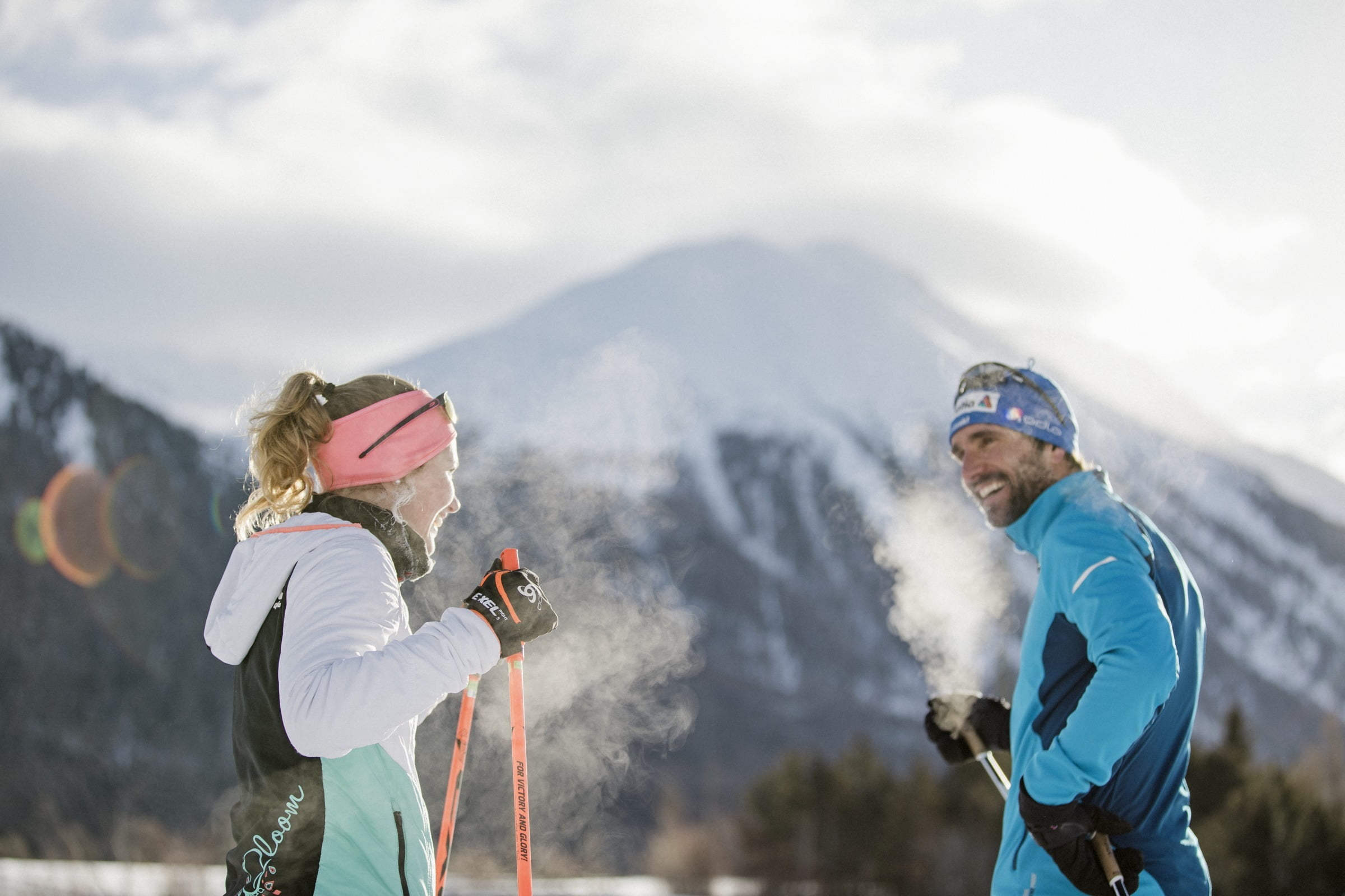 Cross-country skiing – the perfect workout