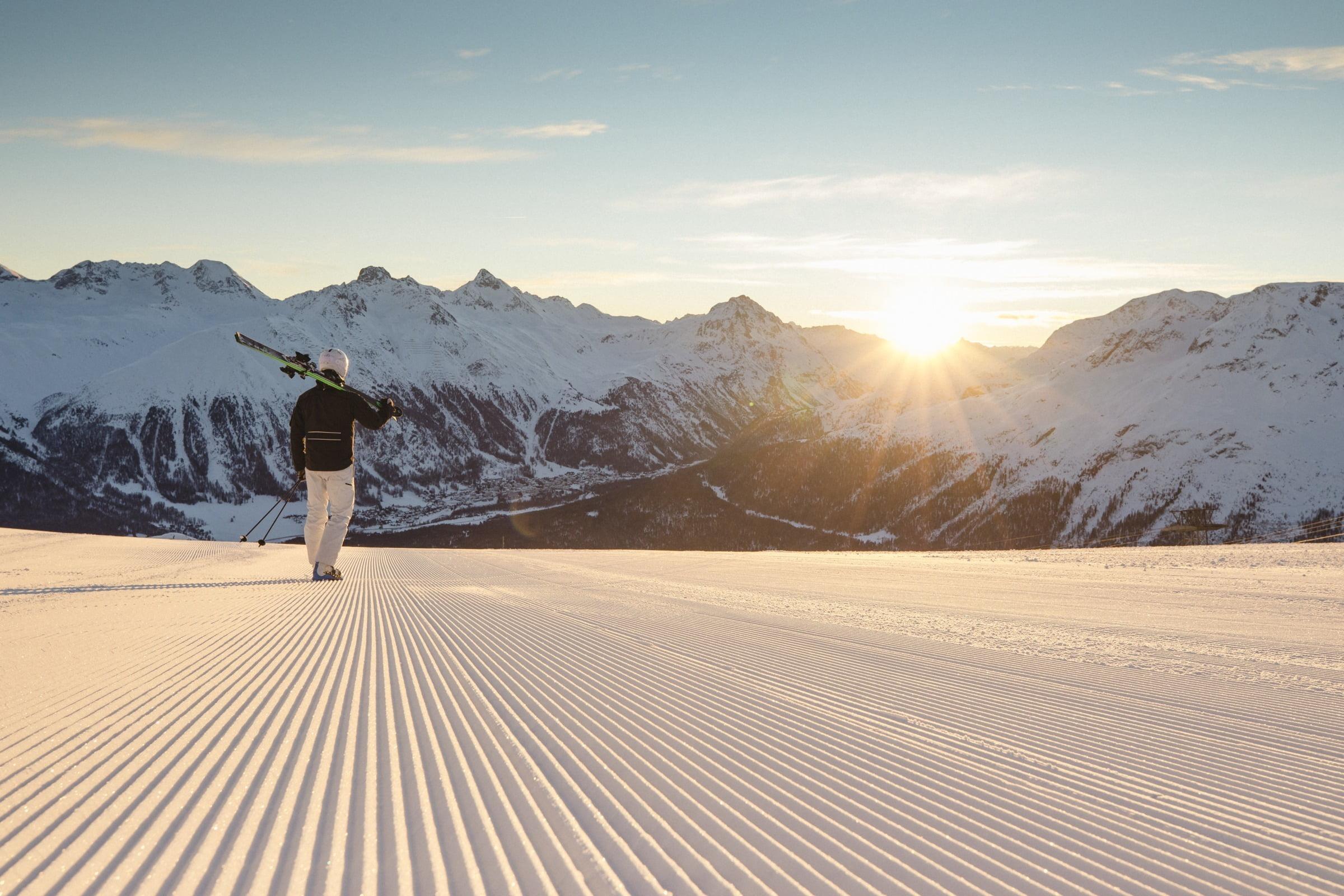 Ski Alpine Corviglia St. Moritz