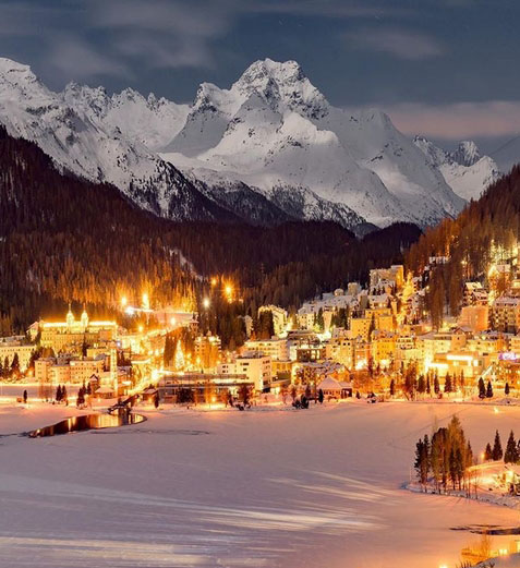 Social St. Moritz Slide 1