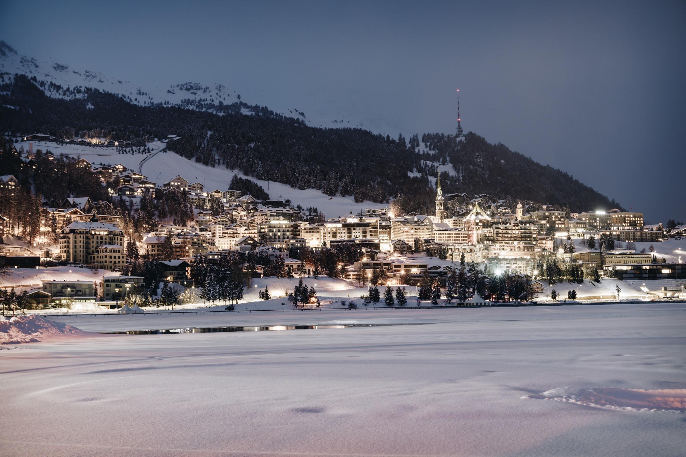 Village tour of St. Moritz