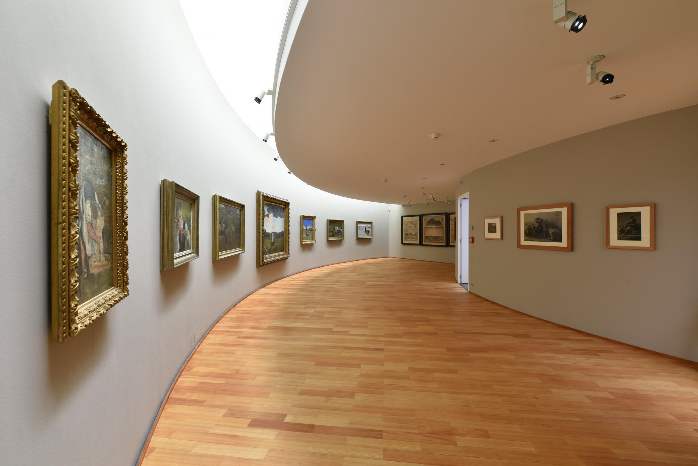 Segantini Museum Slide 1