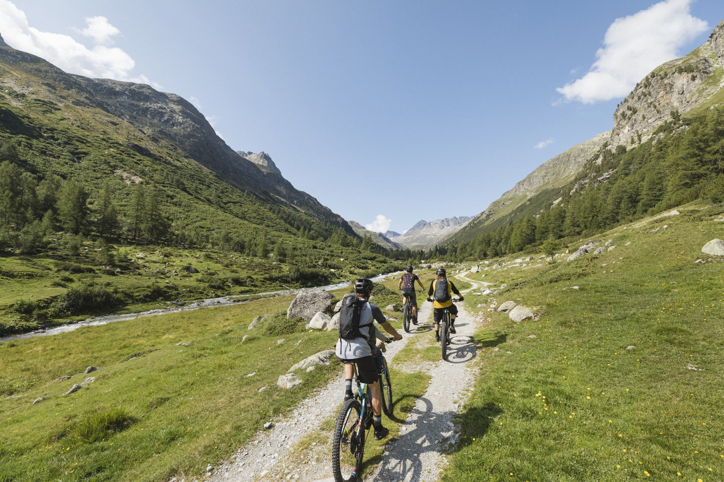 E-biking through the Engadin