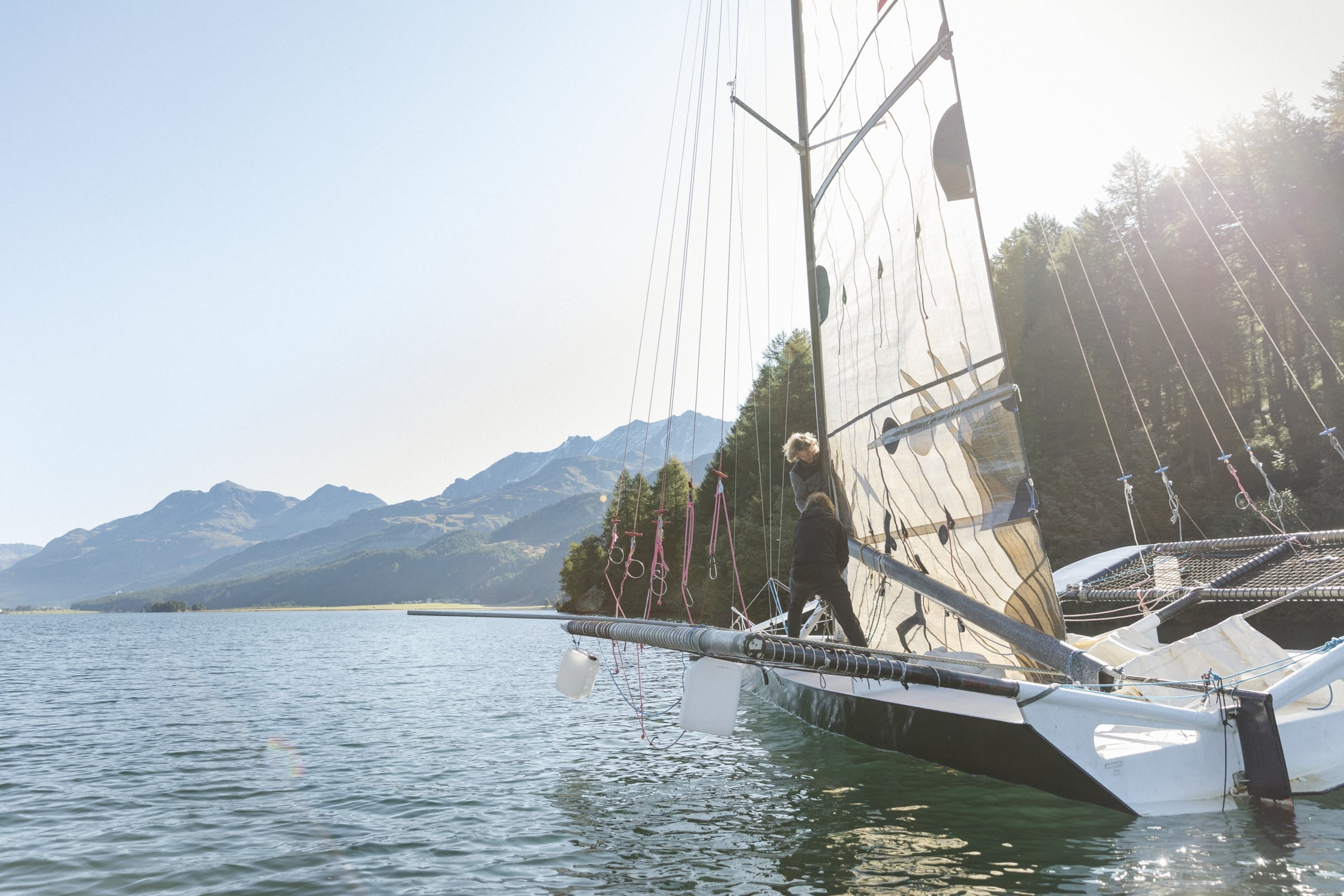 Watersports in Engadin