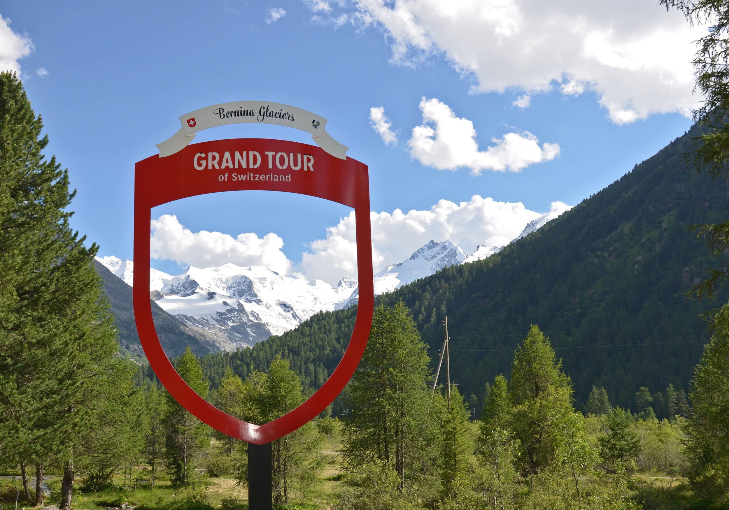 Die Grand Tour Foto-Spots