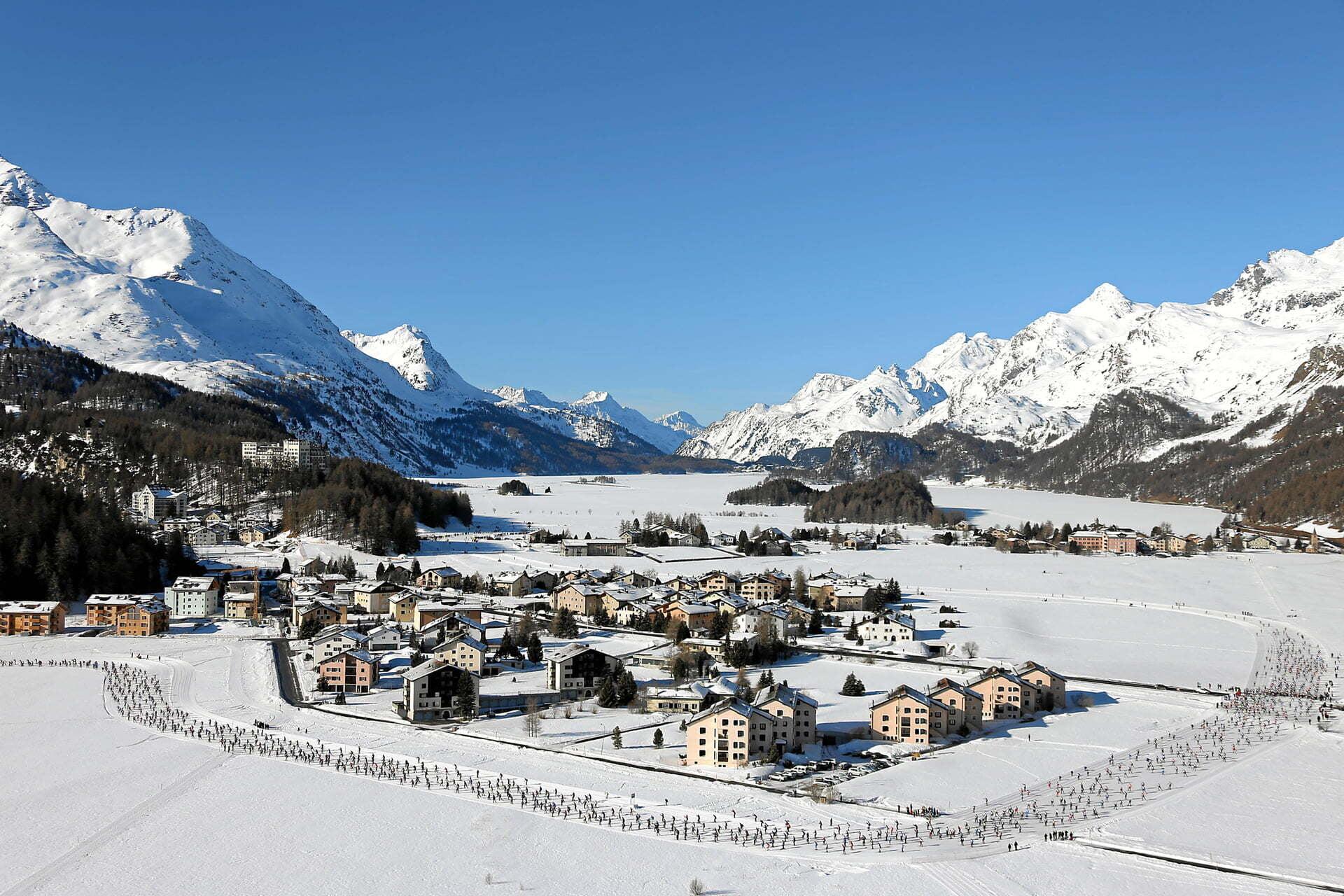 52. Engadin Skimarathon und 13. Halbmarathon