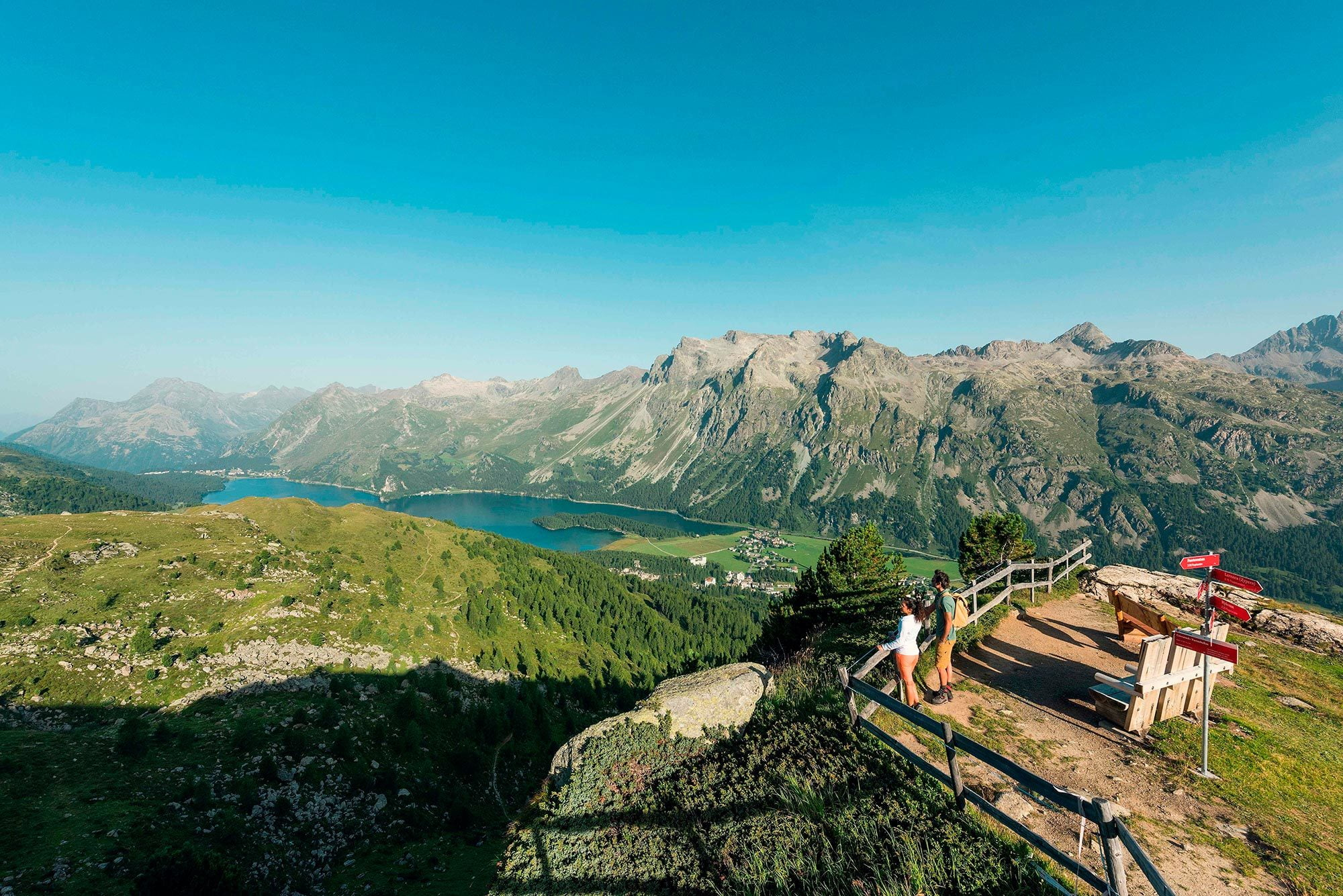 Taking Corvatsch in your stride