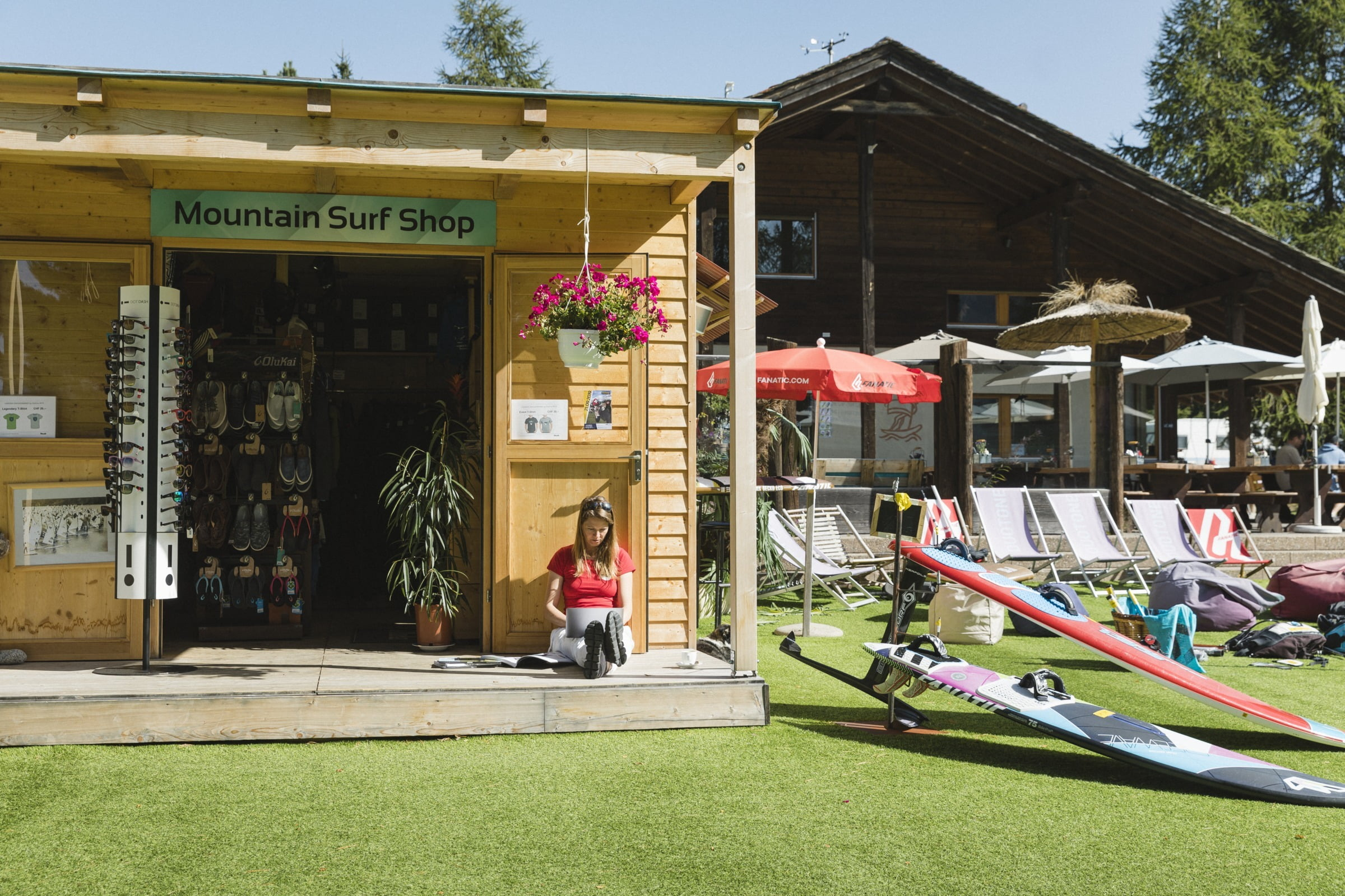 Mountain Surf Shop, Silvaplana