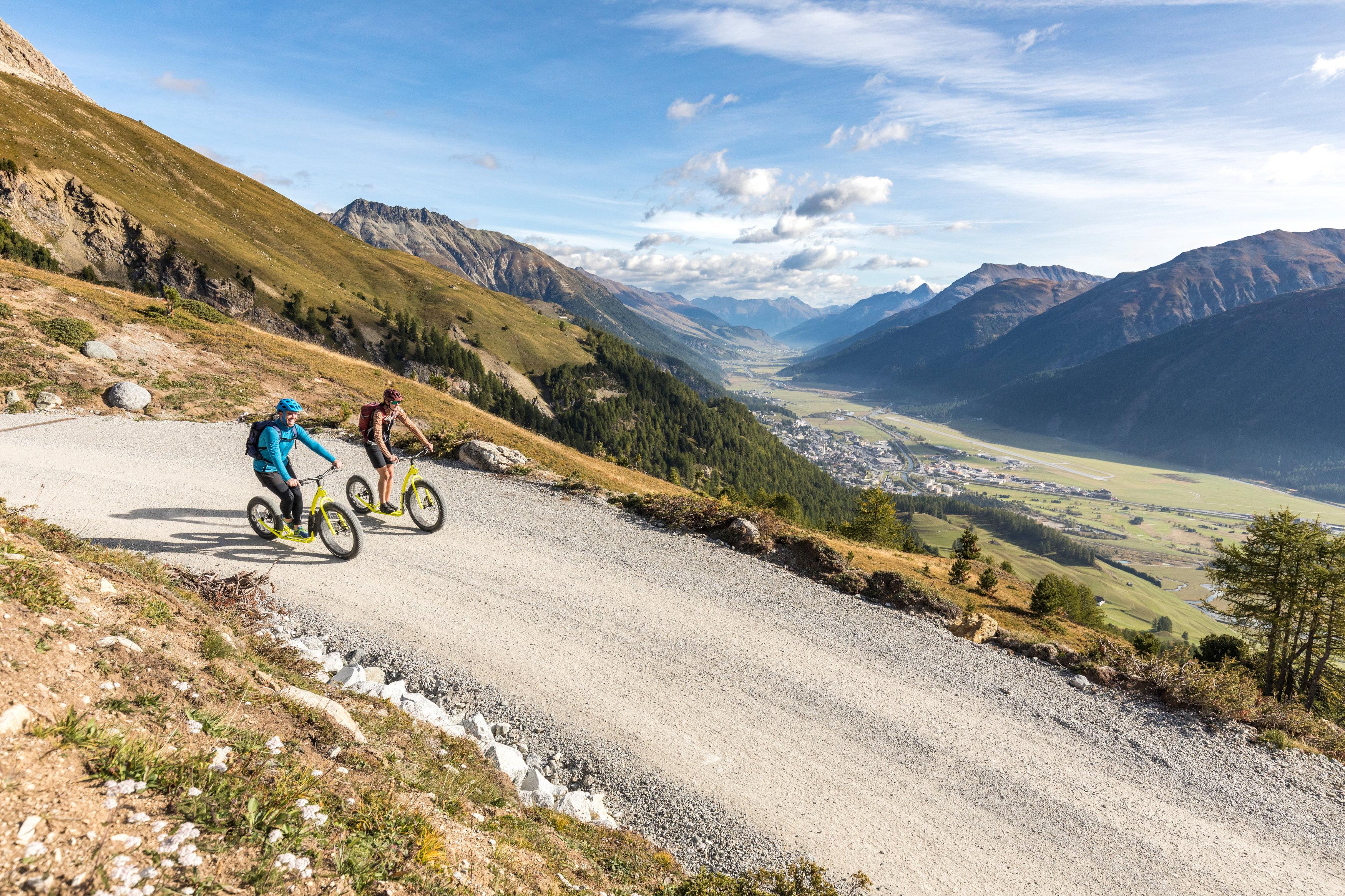 Downhill-Trottinett Marguns